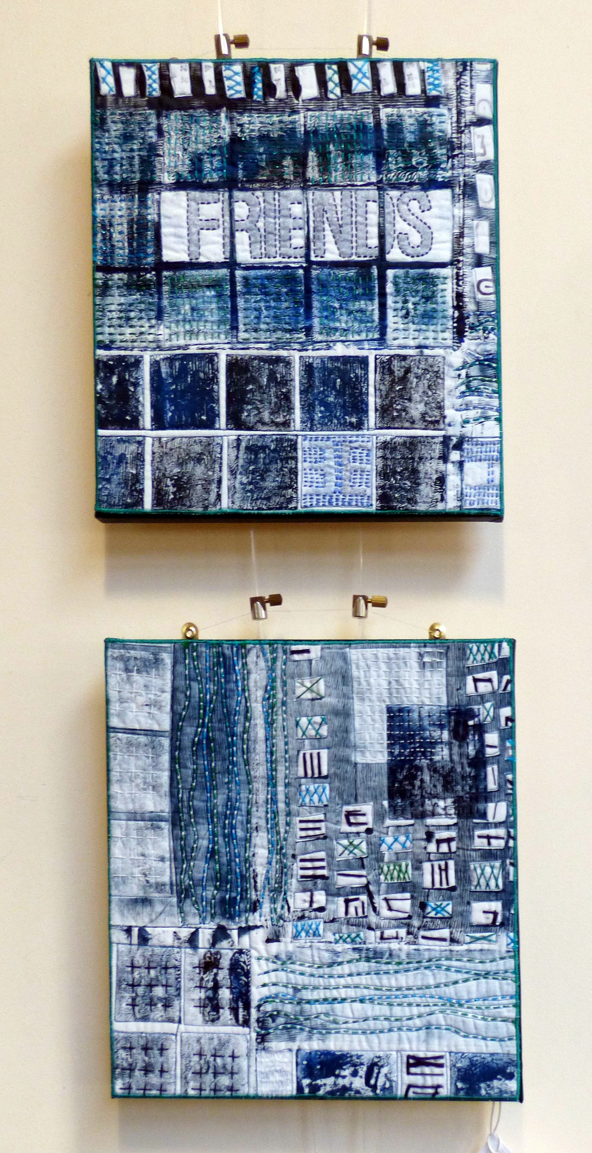 I'VE BREATHED MOUNTAIN AIR by Jane Holmes, Natural Progression Textile Group, Jan 2020