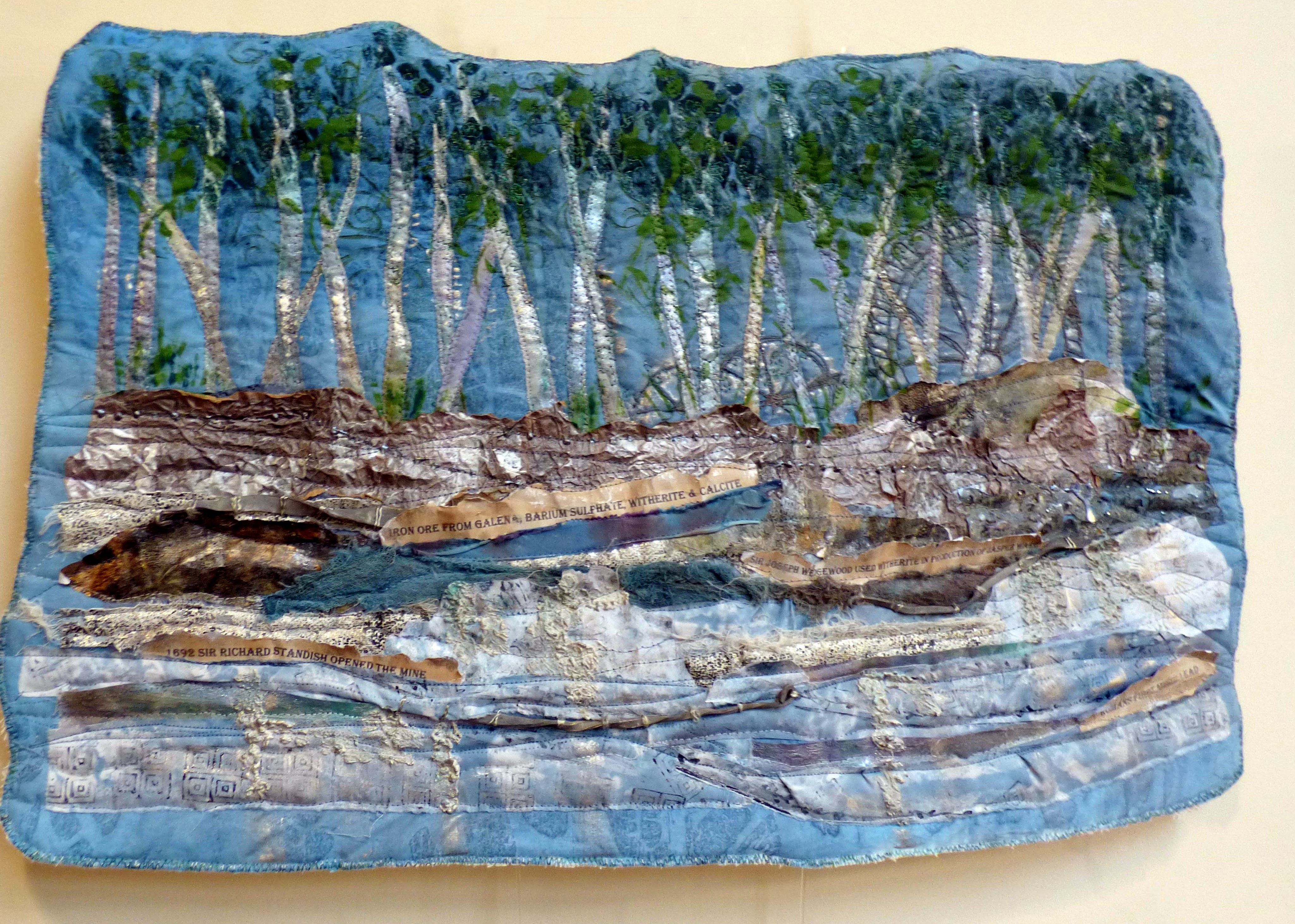 TRACES OF THE PAST-LEAD MINE CLOUGH 1, Natural Progression Textile Group, Jan 2020