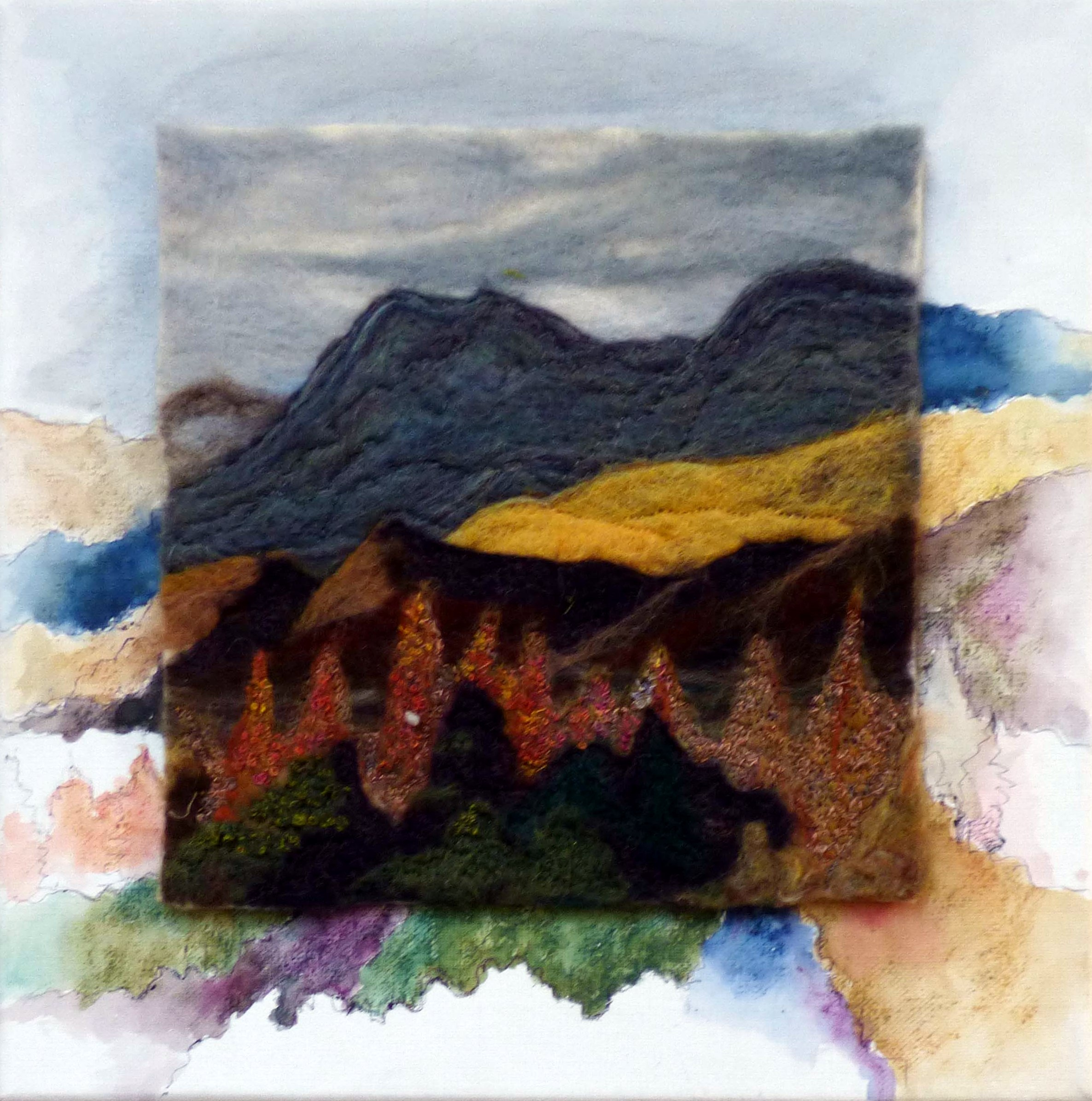 THE LANGDALES-RECHARGE THE SPIRIT by Nicky Robertson, Natural Progression Textile Group, Jan 2020
