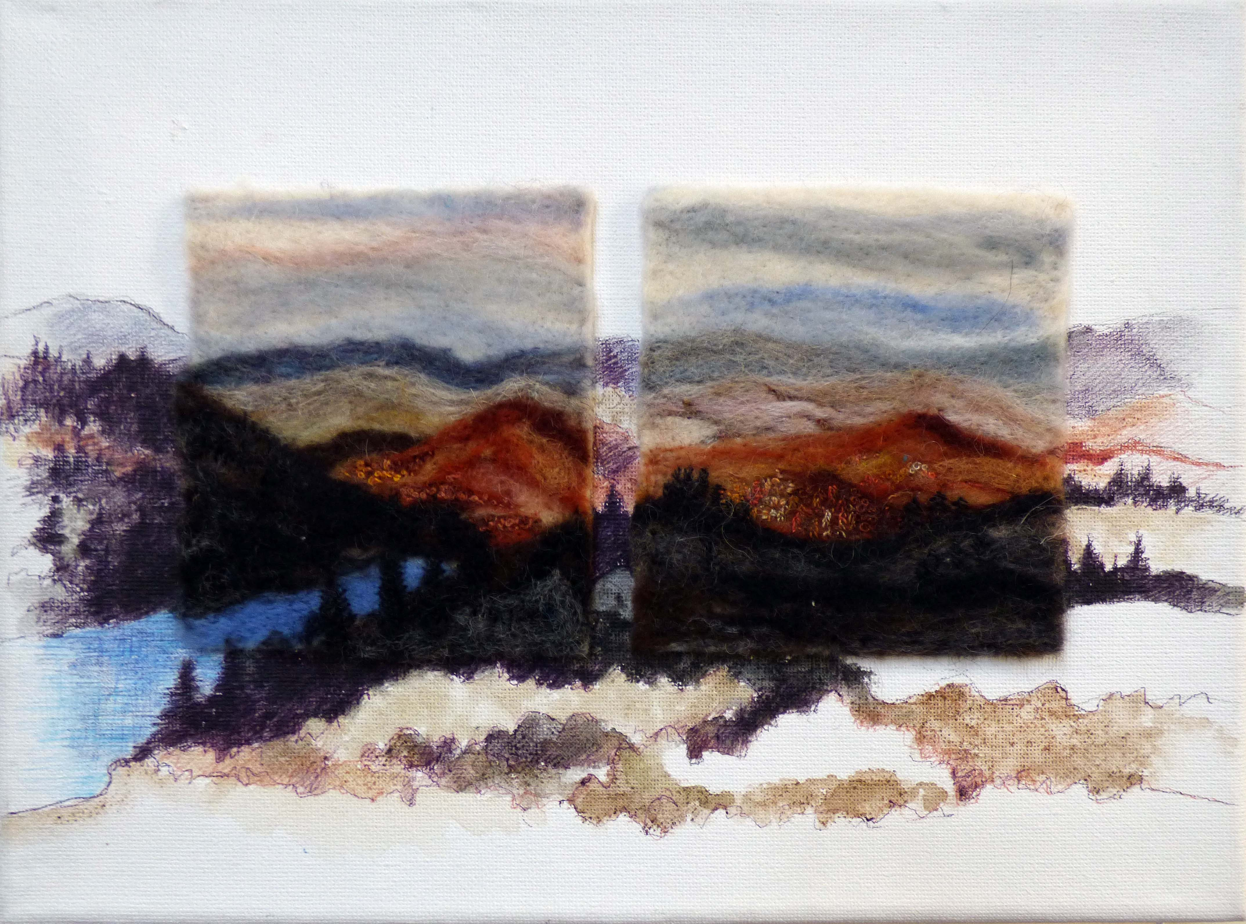 TARN HOWS-RECHARGE THE SPIRIT by Nicky Robertson, Natural Progression Textile Group, Jan 2020