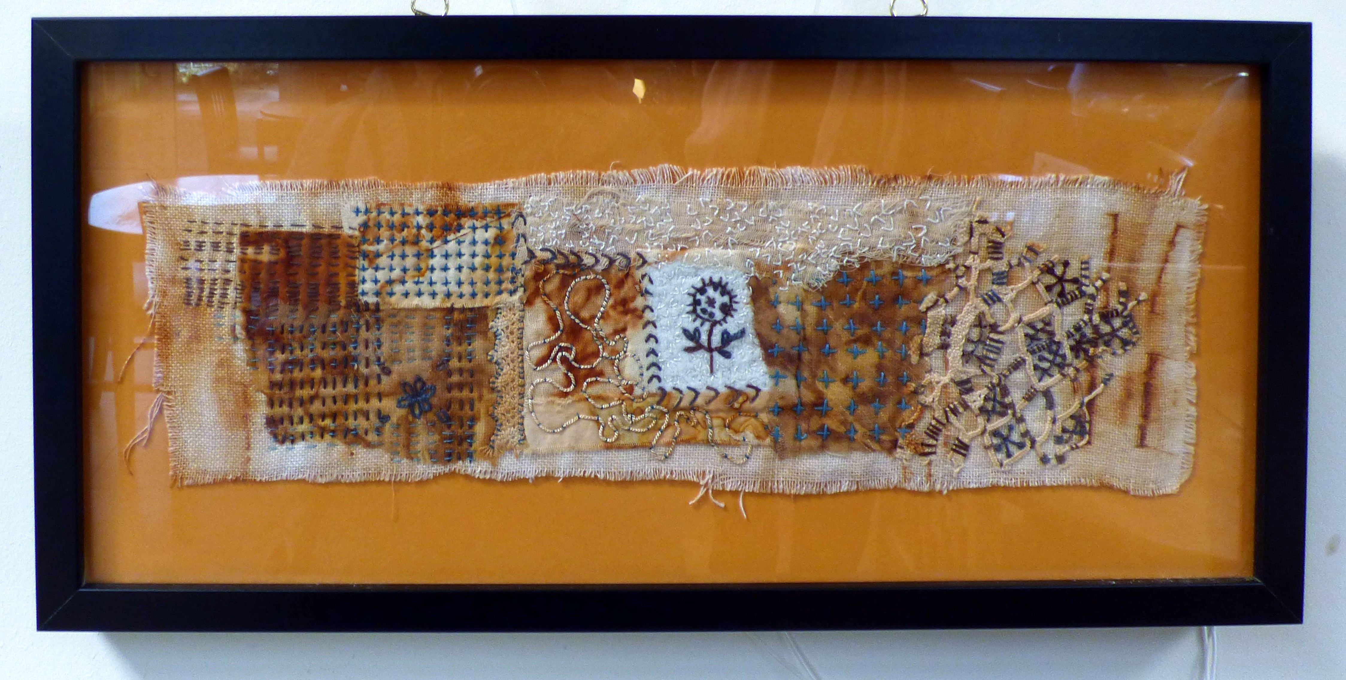 RUST IN PEACE by Jane Holmes, Natural Progression Textile Group, Jan 2020