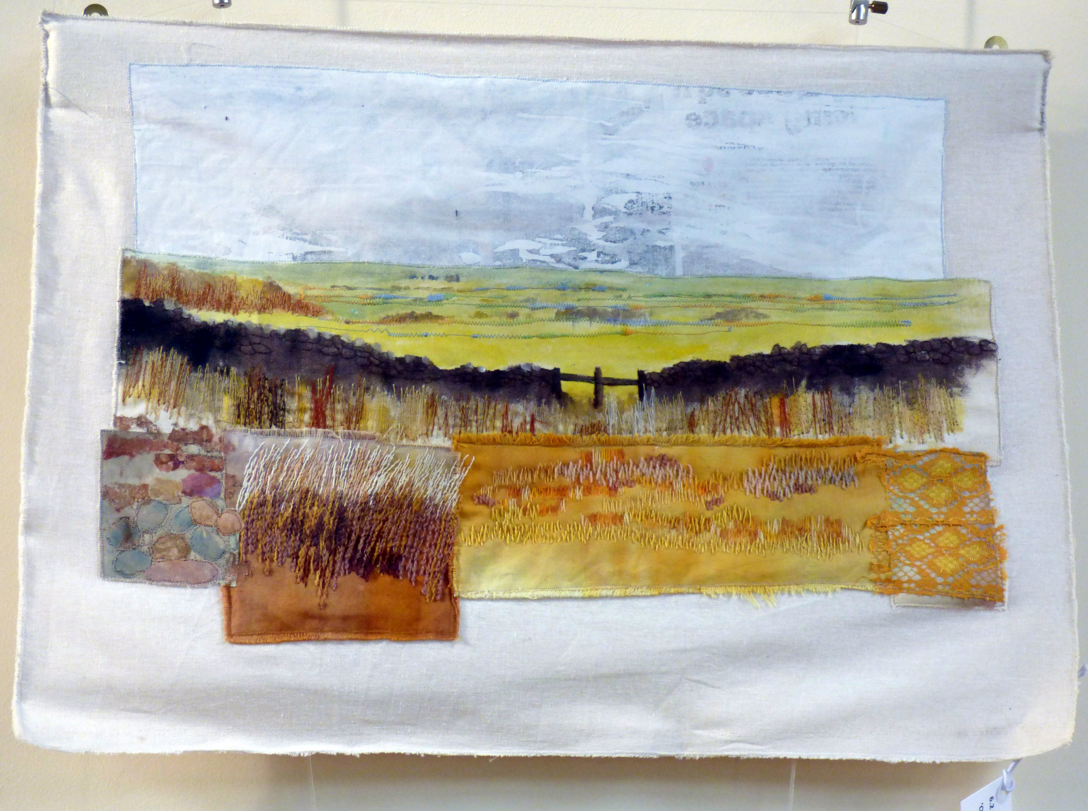OLD SCRAPS-NEW VIEWS by Nicky Robertson, Natural Progression Textile Group, Jan 2020