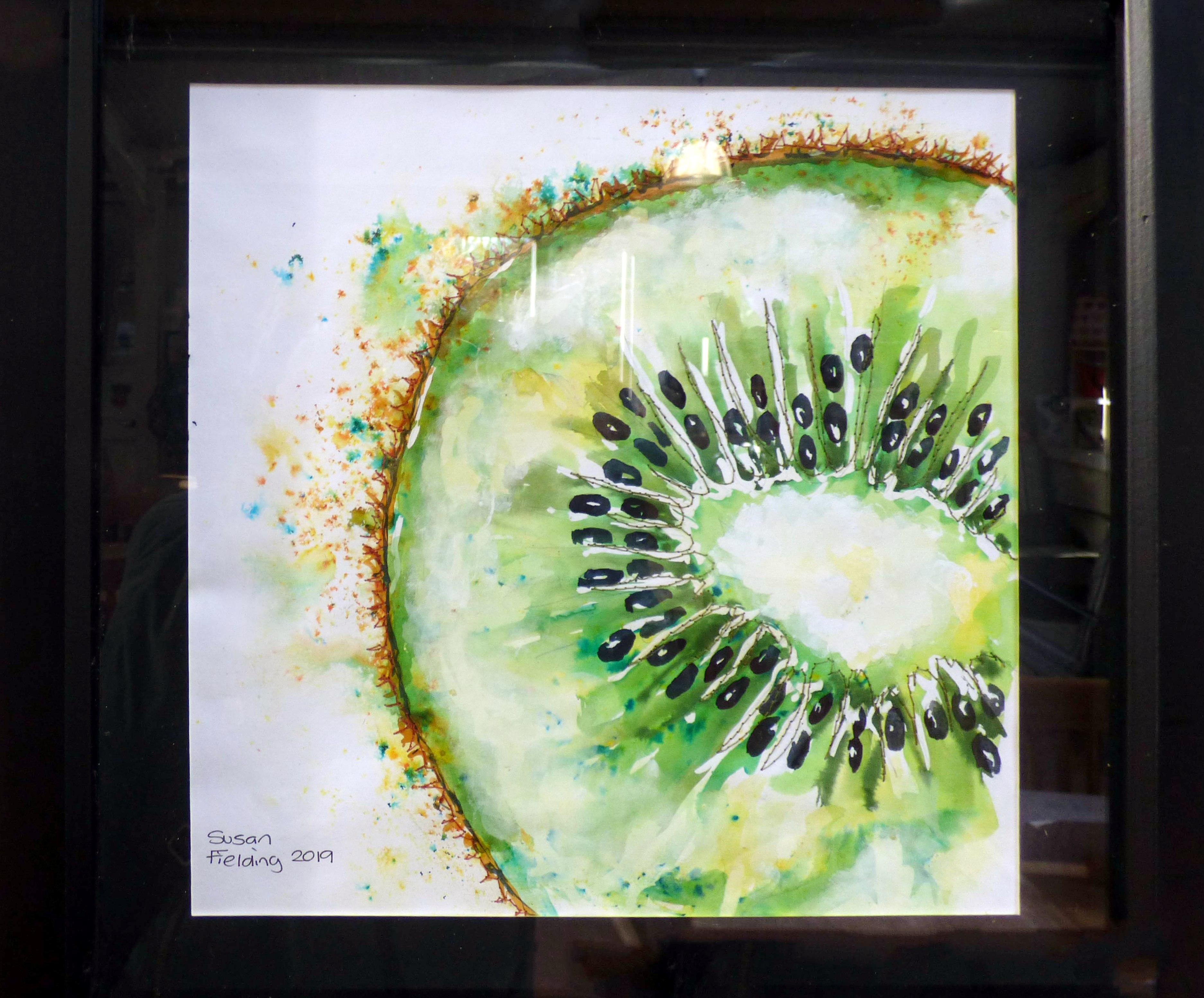 KIWI SEEDS by Susan Fielding, Natural Progression Textile Group, Jan 2020