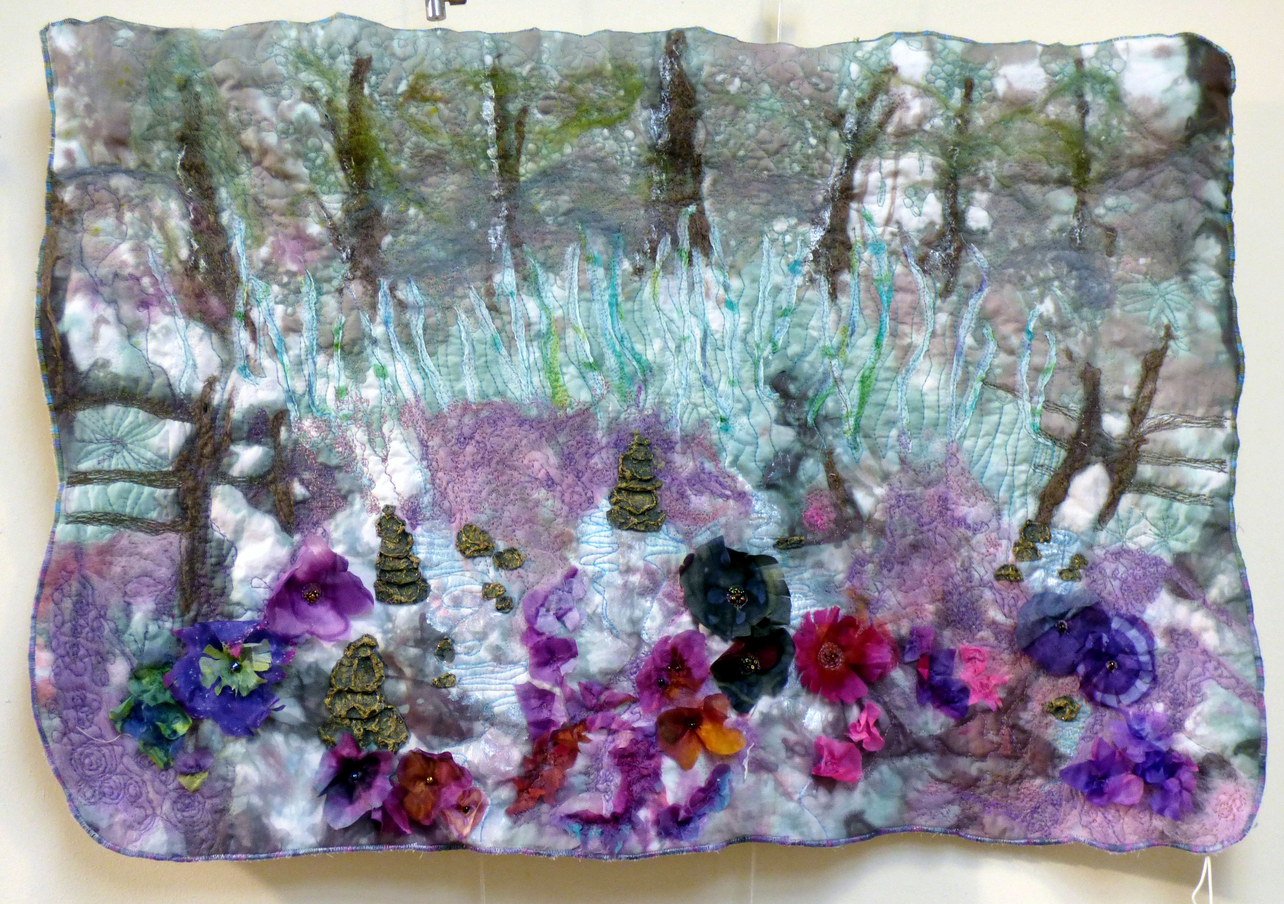 MOMENTS IN TIME by Sue Chisnall-Sumner, Natural Progression Textile Group, Jan 2020