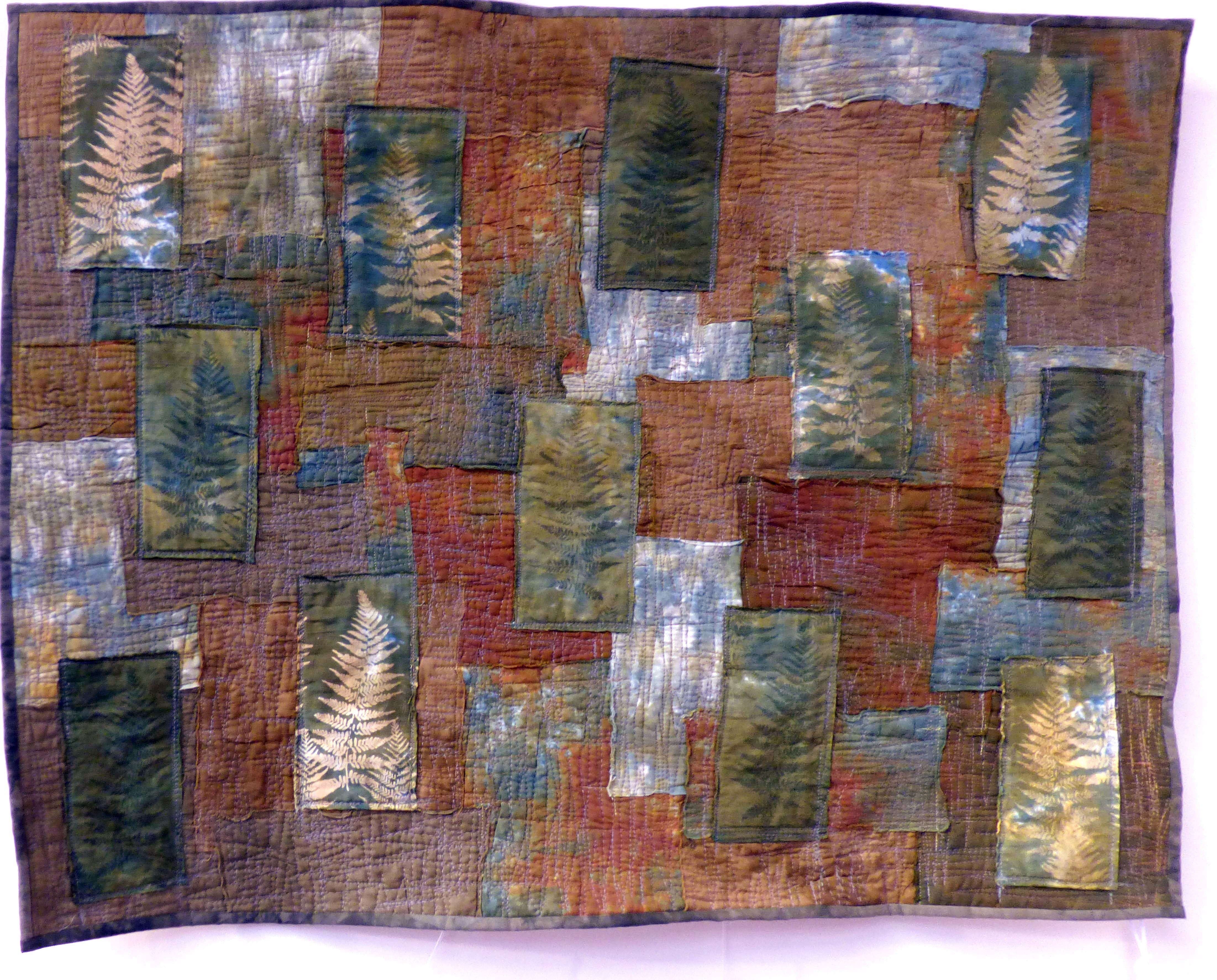 CAN'T SEE THE WOOD FOR THE TREES by Tracey Ramsey, Natural Progression Textile Group, Jan 2020