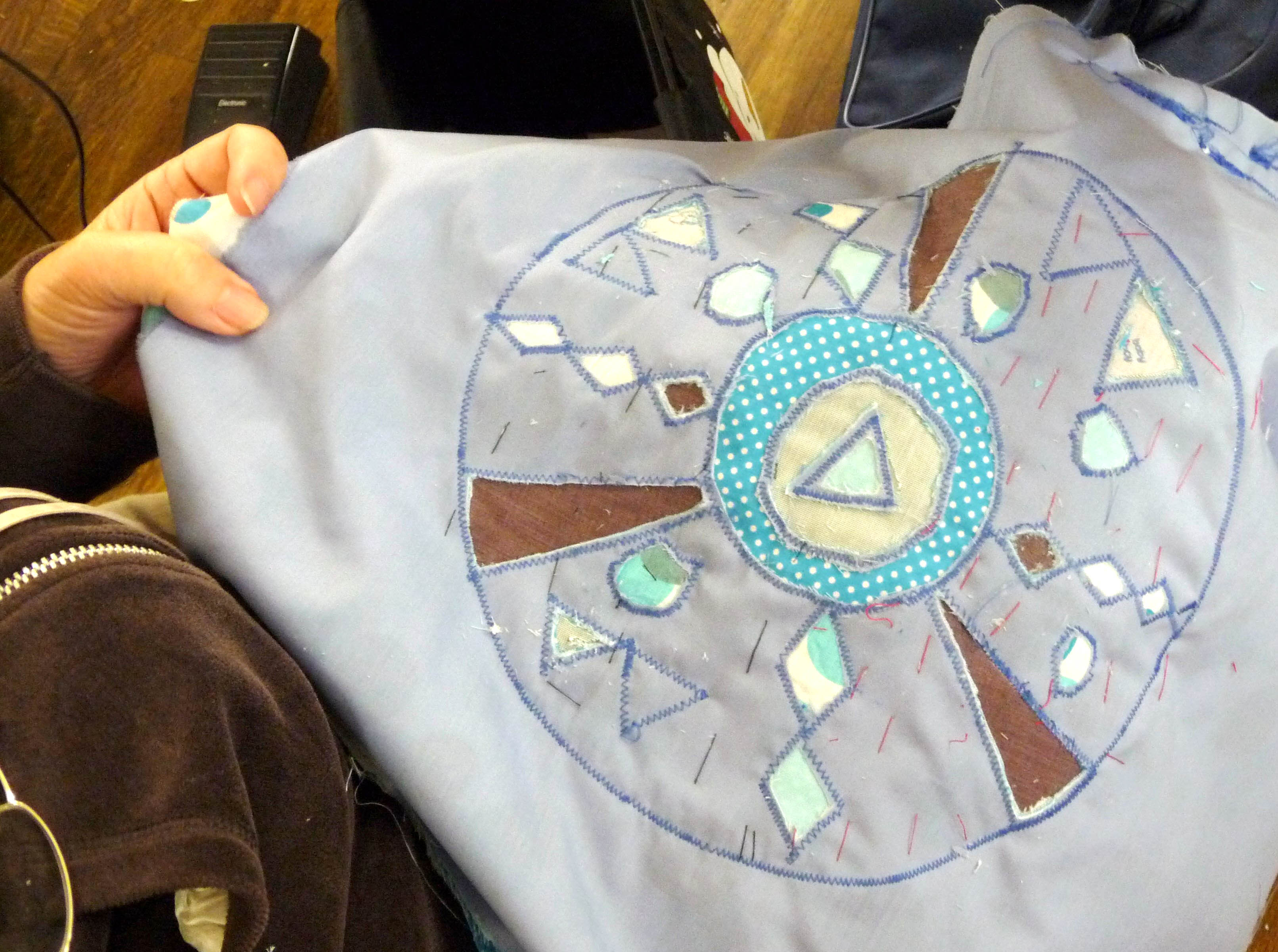 another reverse applique taking shape