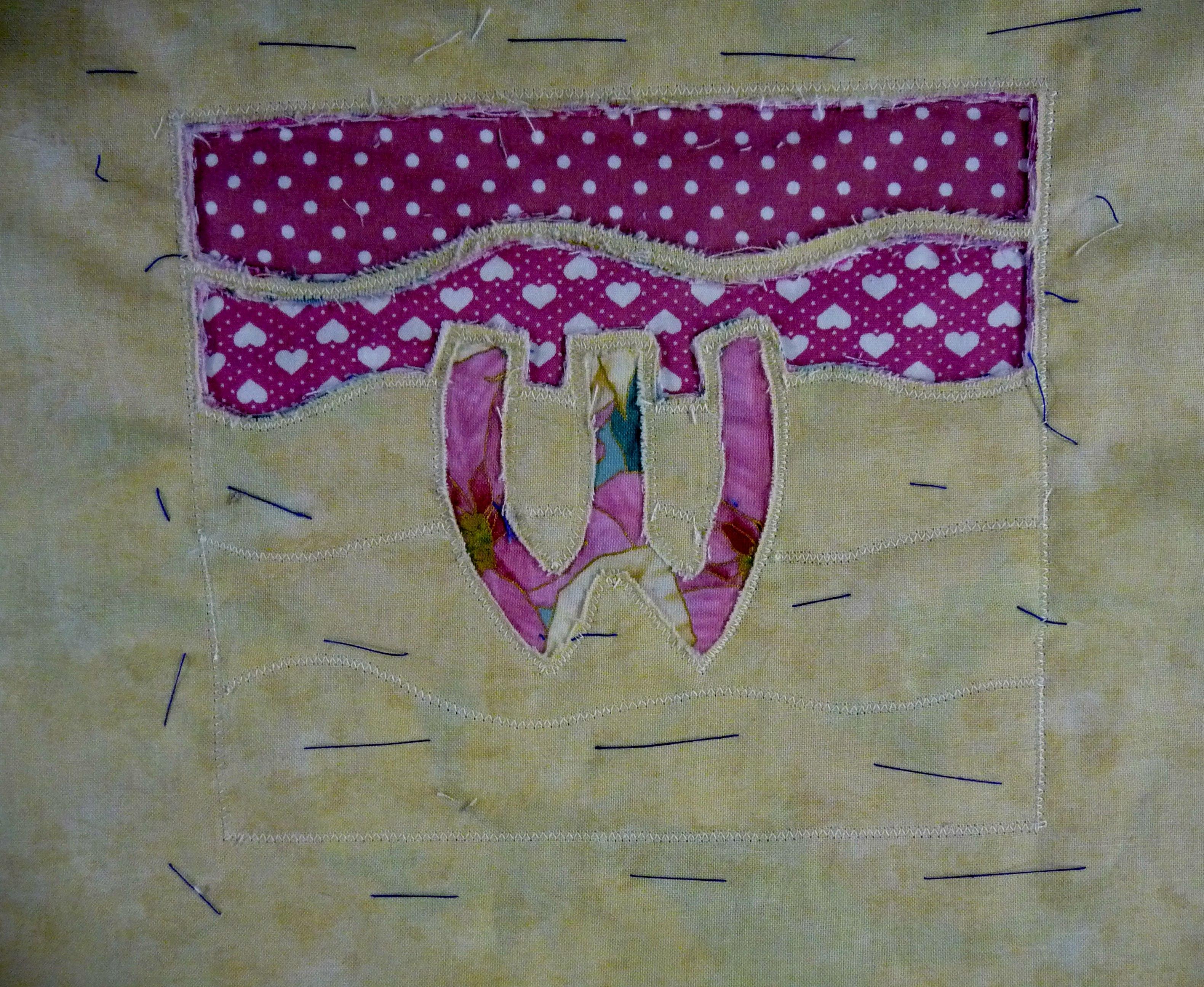 interesting use of patterned fabrics