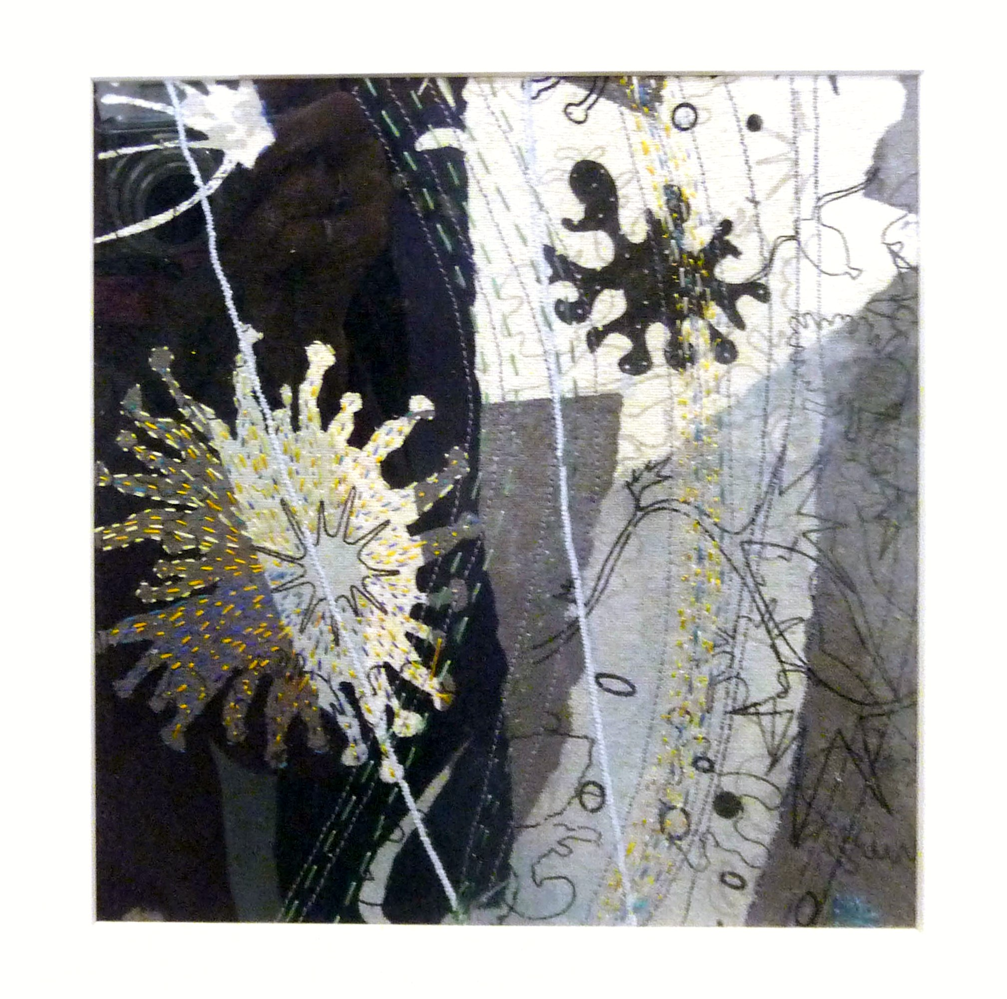 MARINE LIFE by Marion Roberts, stitch and print
