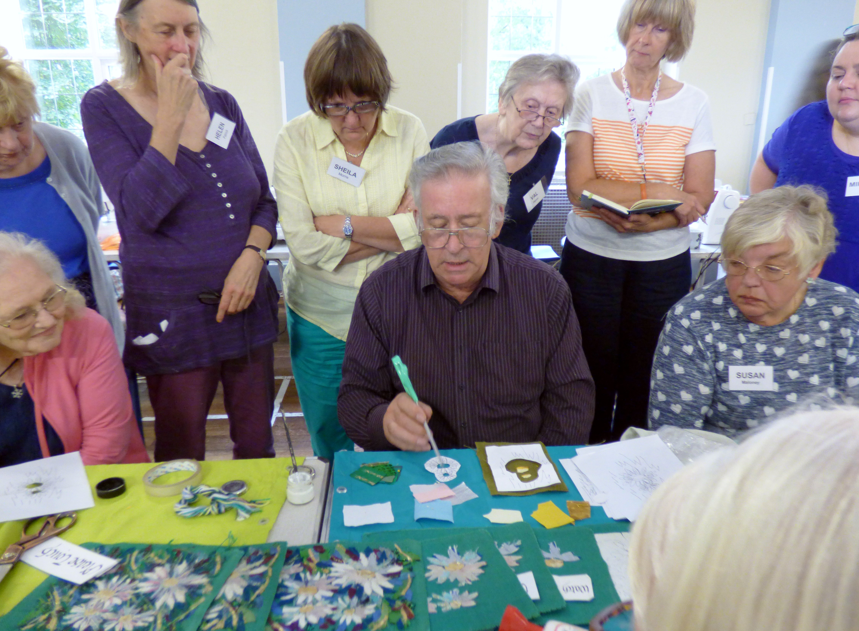"Richard Box ""Daisies"" Workshop, August 2016"