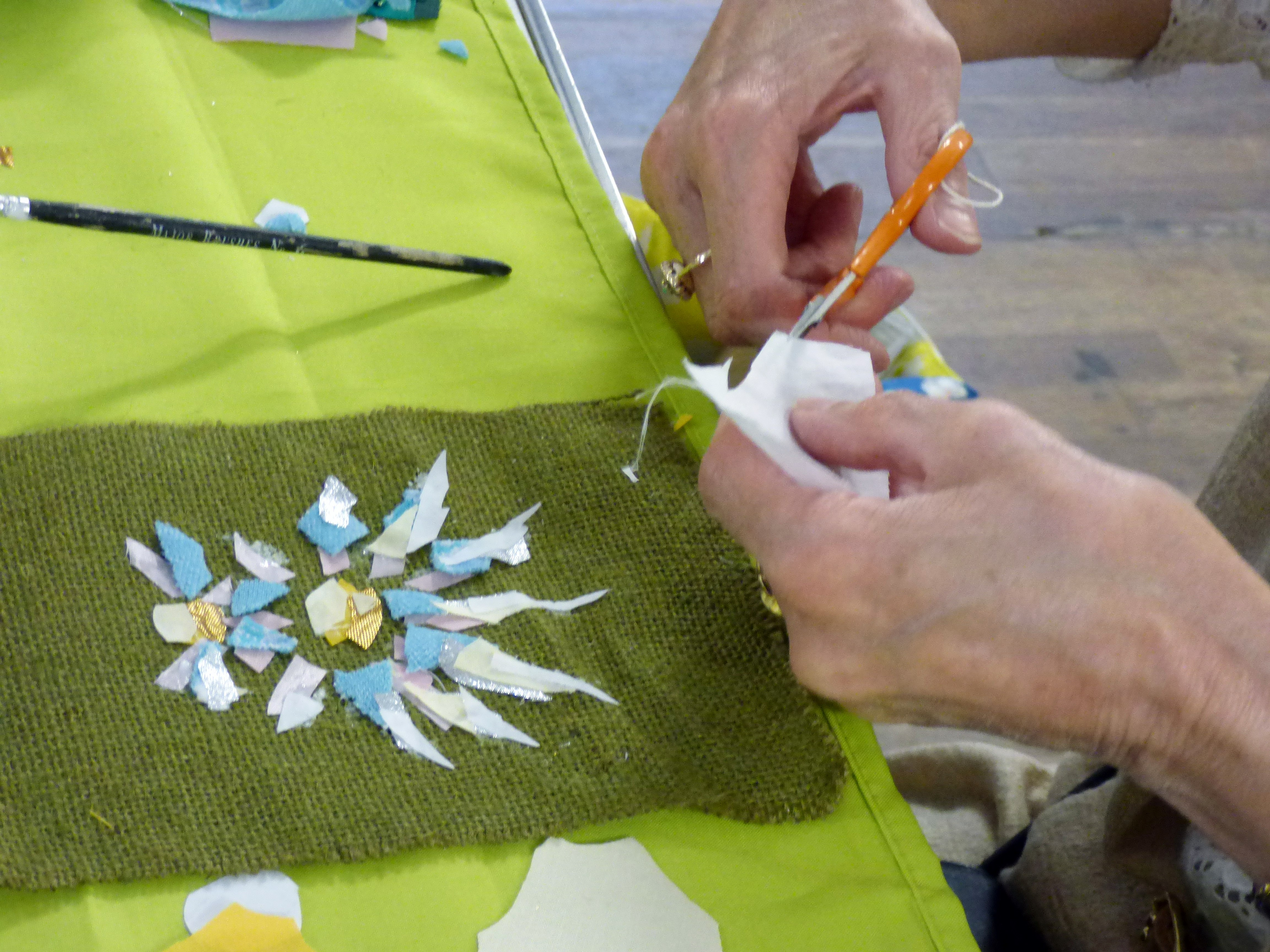 "student's work at Richard Box ""Daisies"" Workshop, August 2016"