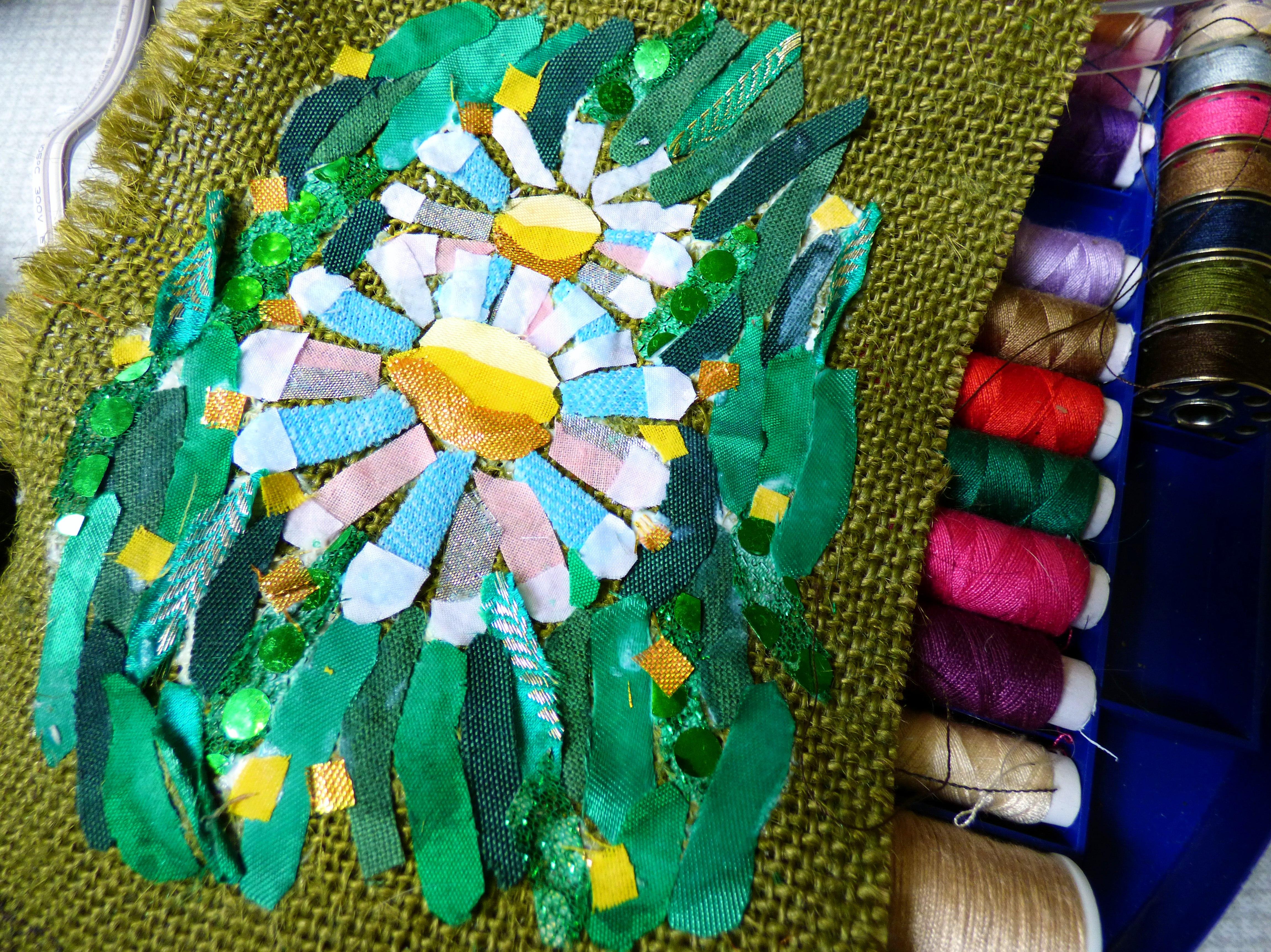 "student's work at Richard Box ""Daisies"" Workshop, August 2016"
