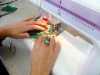 "student's work at Richard Box ""Poppies"" workshop at MEG"