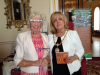 Rubina Porter MBEand the Lady Mayoress Mrs Ann Conception, Sept 2015