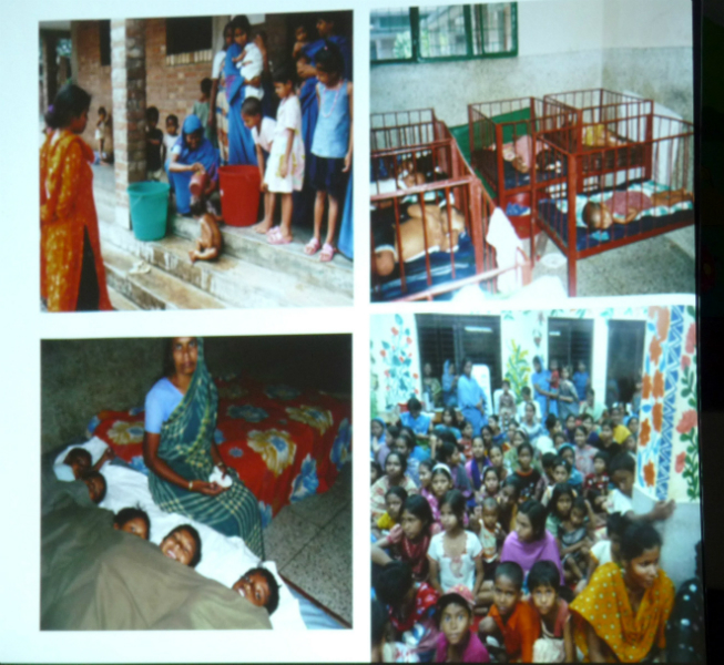 inside the Sreepur Orphanage