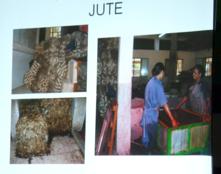 Jute is used for paper making