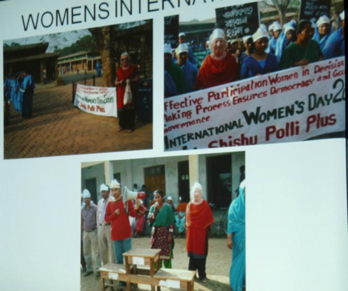 Womens\' International Day 2009 in Bangladesh
