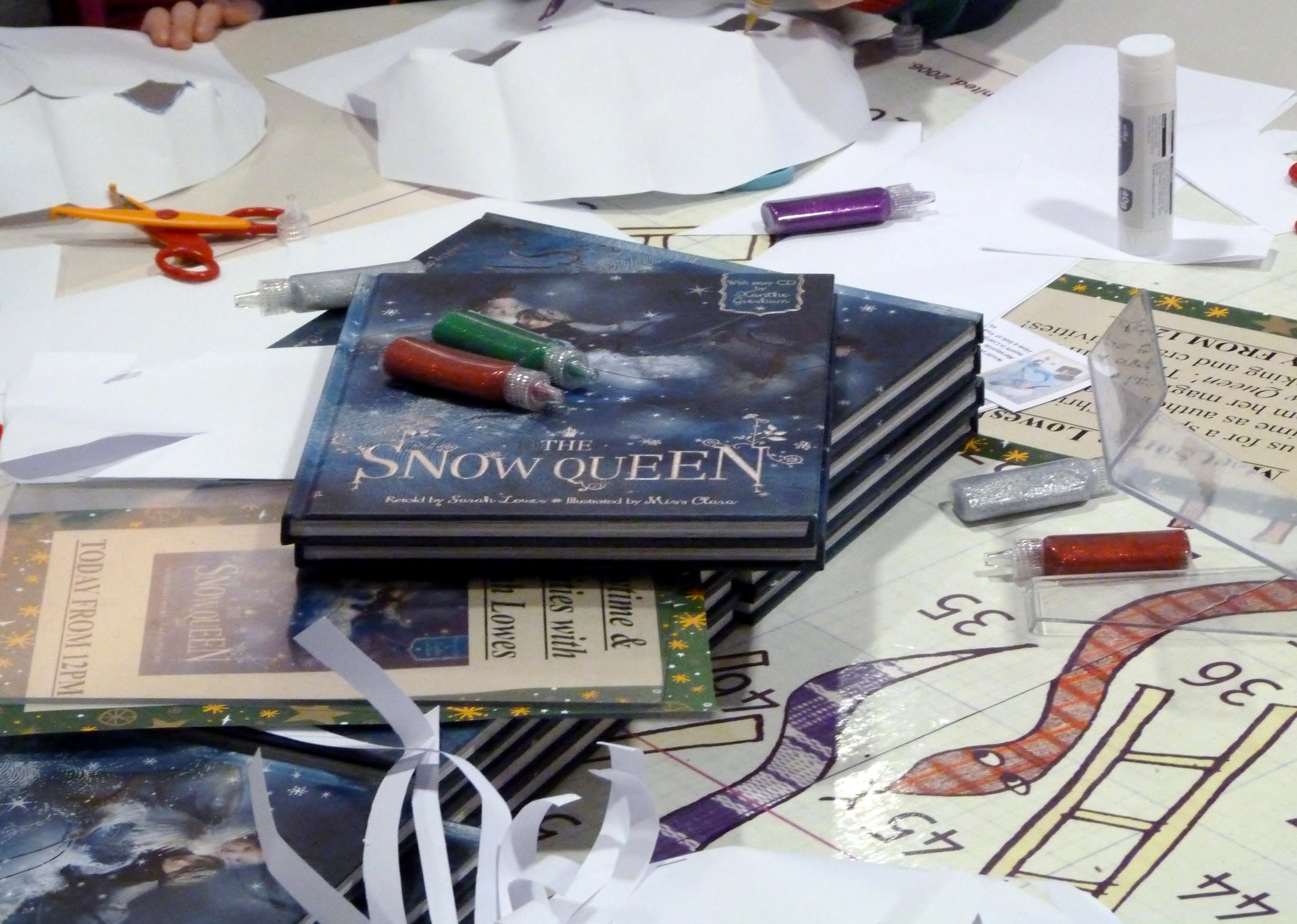 """Sarah Lowes """"The Snow Queen"""" book launch"""