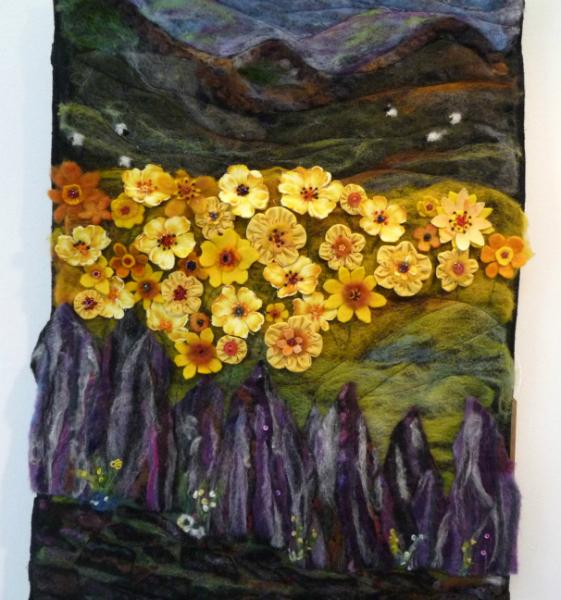 OVER A DEVON WALL by Marguerita McBride
