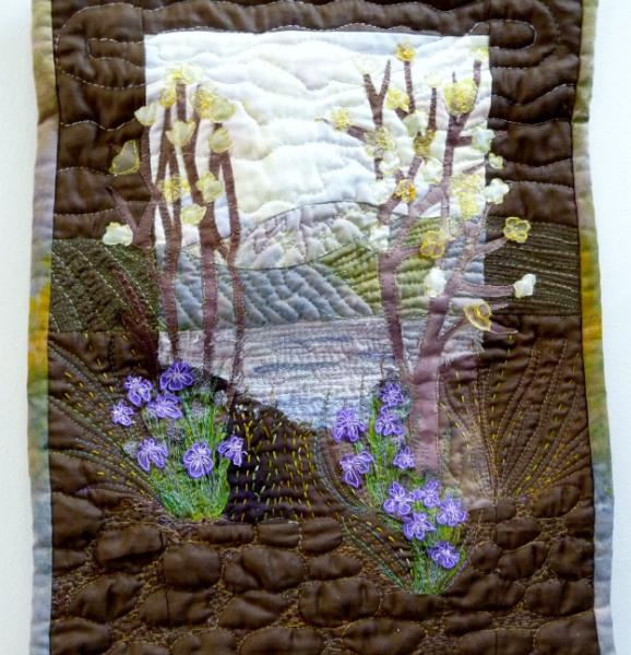 TIFFANY LANDSCAPE by Sue Tyndesley