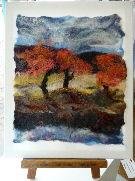 AUTUMN STORM by Sue Tyldesley