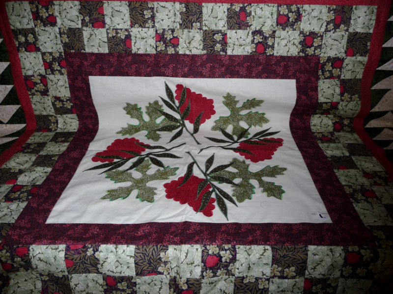 Medallion quilt by Norma Heron