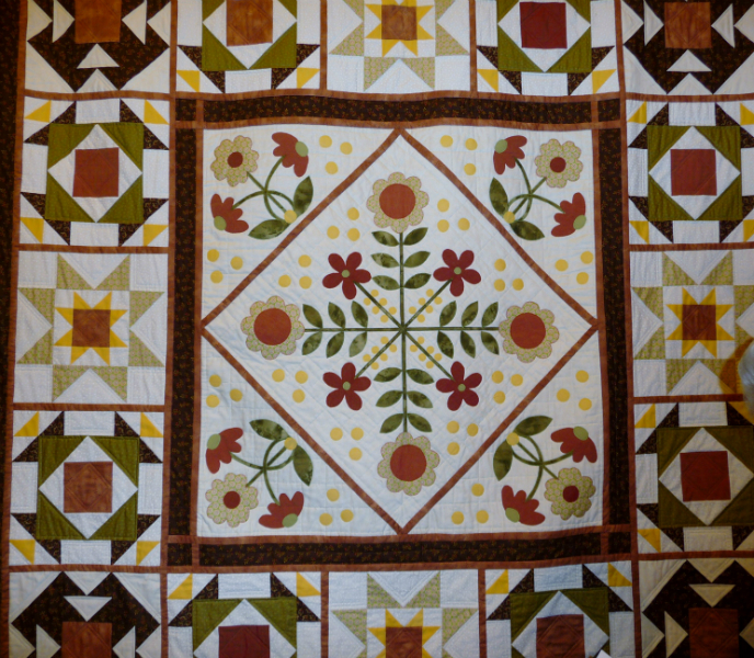 DOUBLE QUILT by Sue Warn
