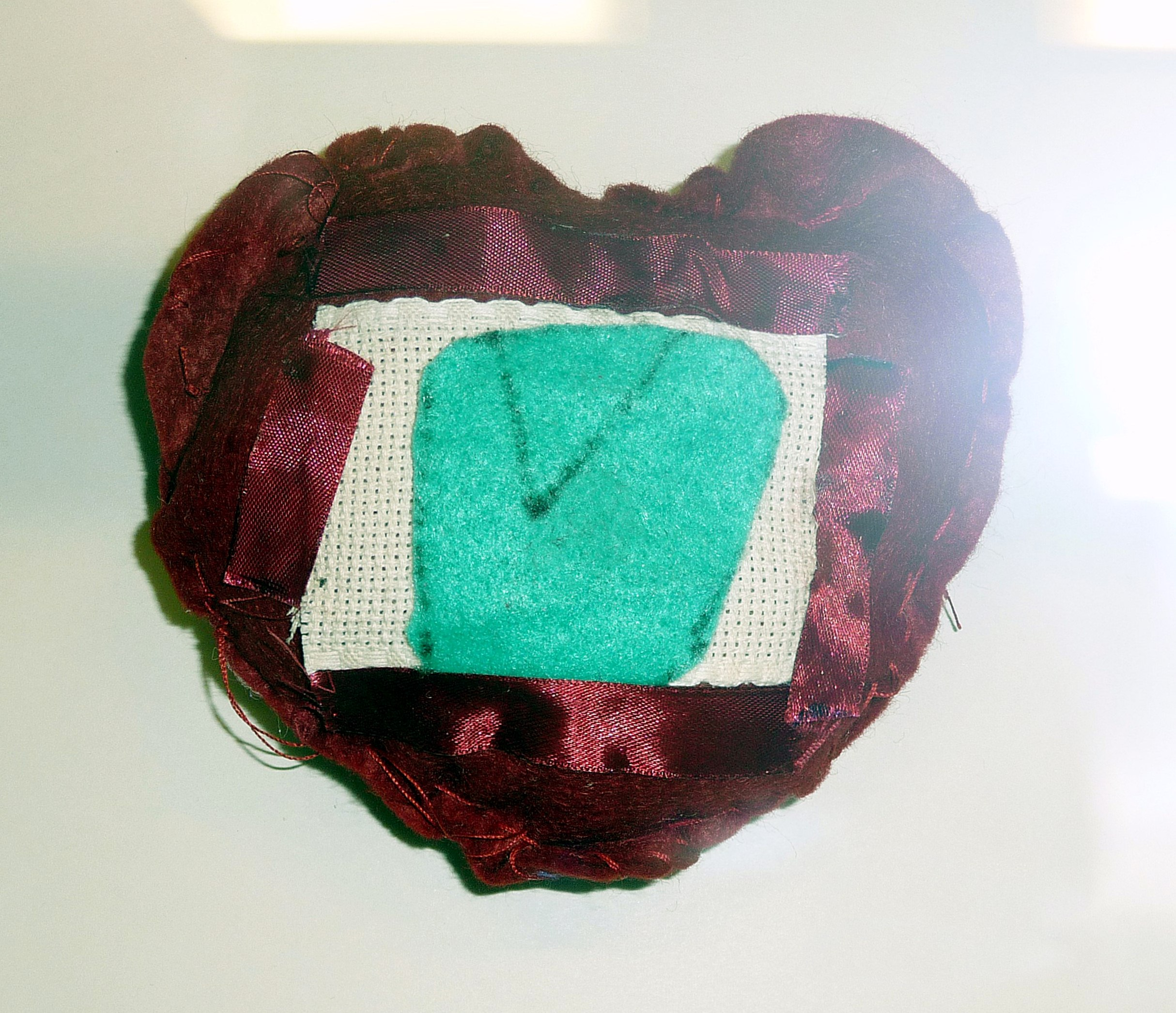 pincushion to commemorate World War 1 made by Jack Reynolds from Lansbury Bridge School, St Helens