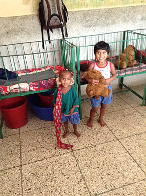 some children in Sreepur, Bangladesh