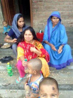 Sreepur Village. Remember World Poverty Day 17th October