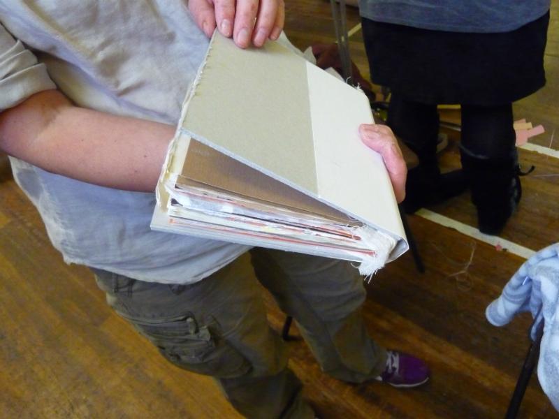 Stitched Sketchbooks Workshop by Alison Mercer