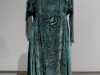 EVENING DRESS, silk with velvet and chiffon sleeves, aquired by Cosprop, made in early 1920's. Worn by Zoe Boyle as Lavinia Swire in Downton Abbey.