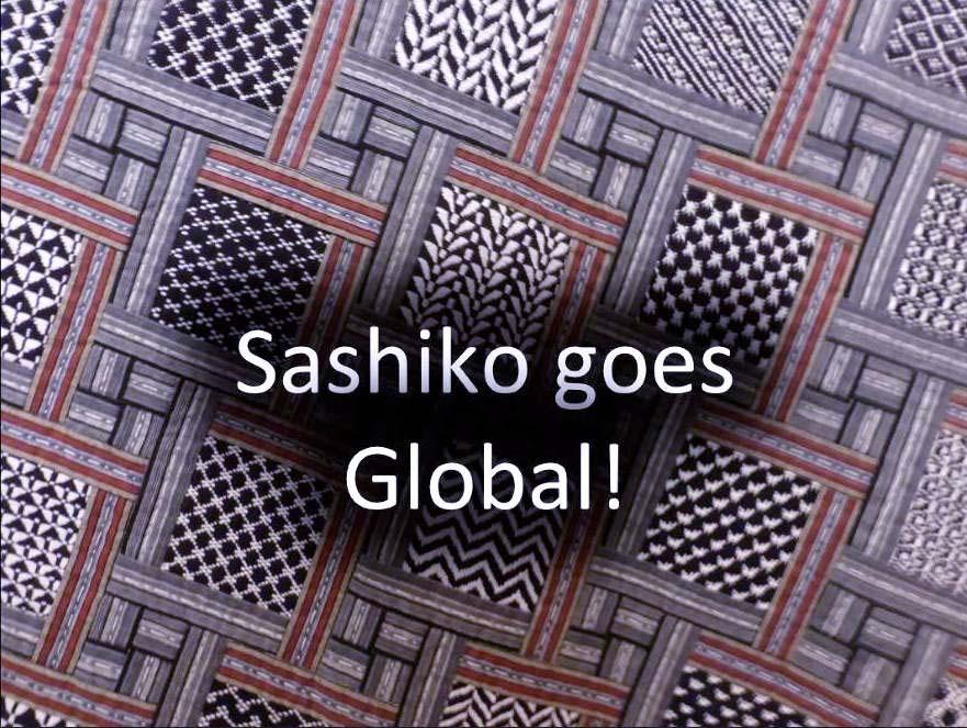 Talk by Susan Briscoe about Sashiko, March 2021