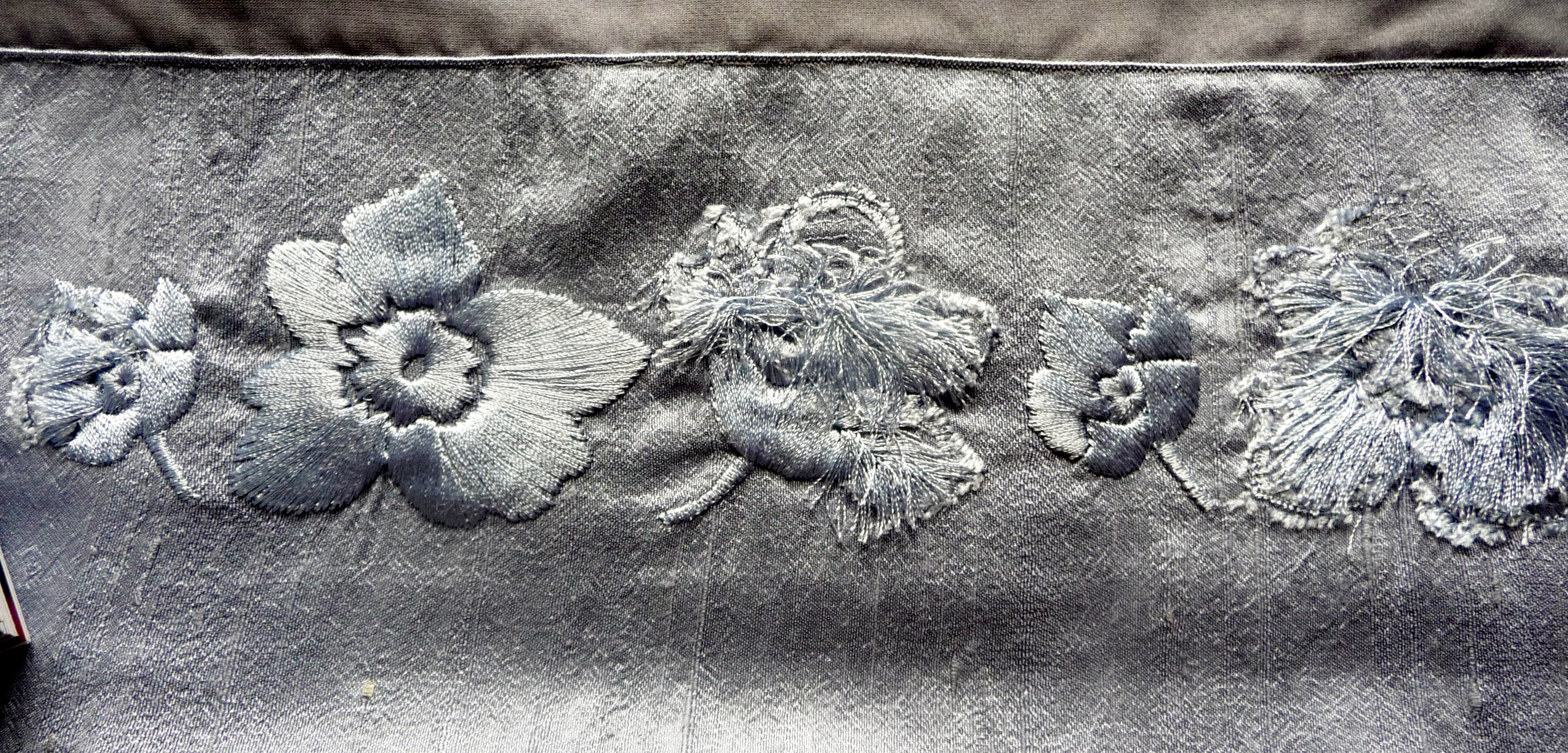 sample of machine embroidery by Alice Colson