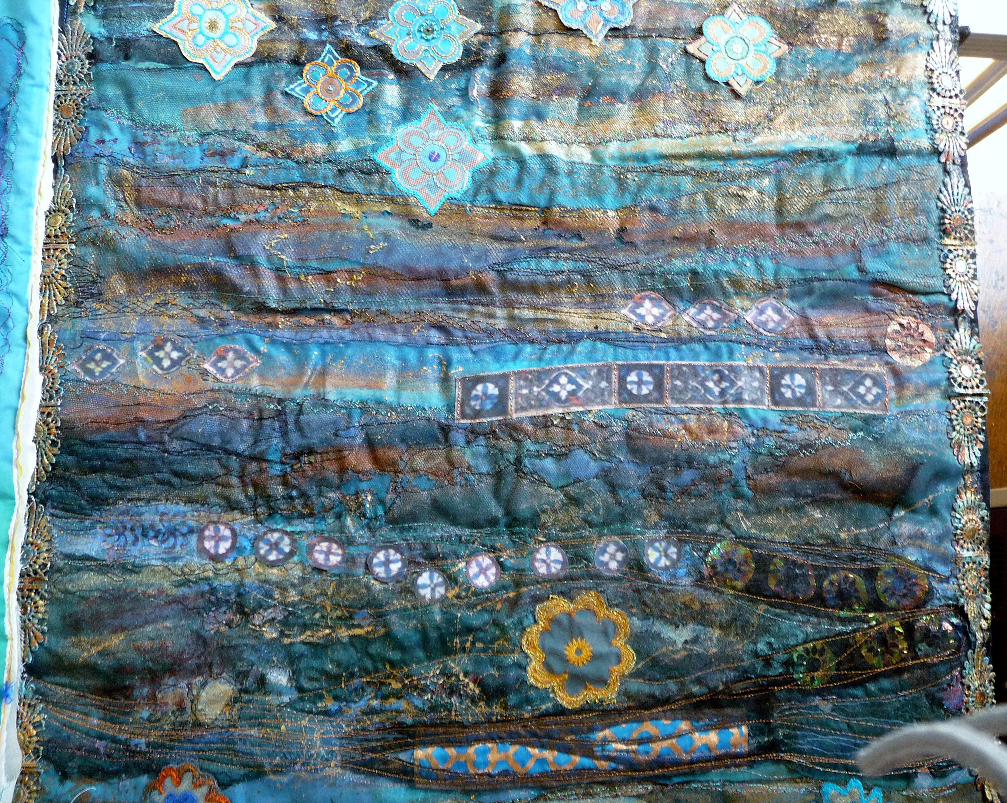 embroidery by Beryl Waterfield, Altrincham EG