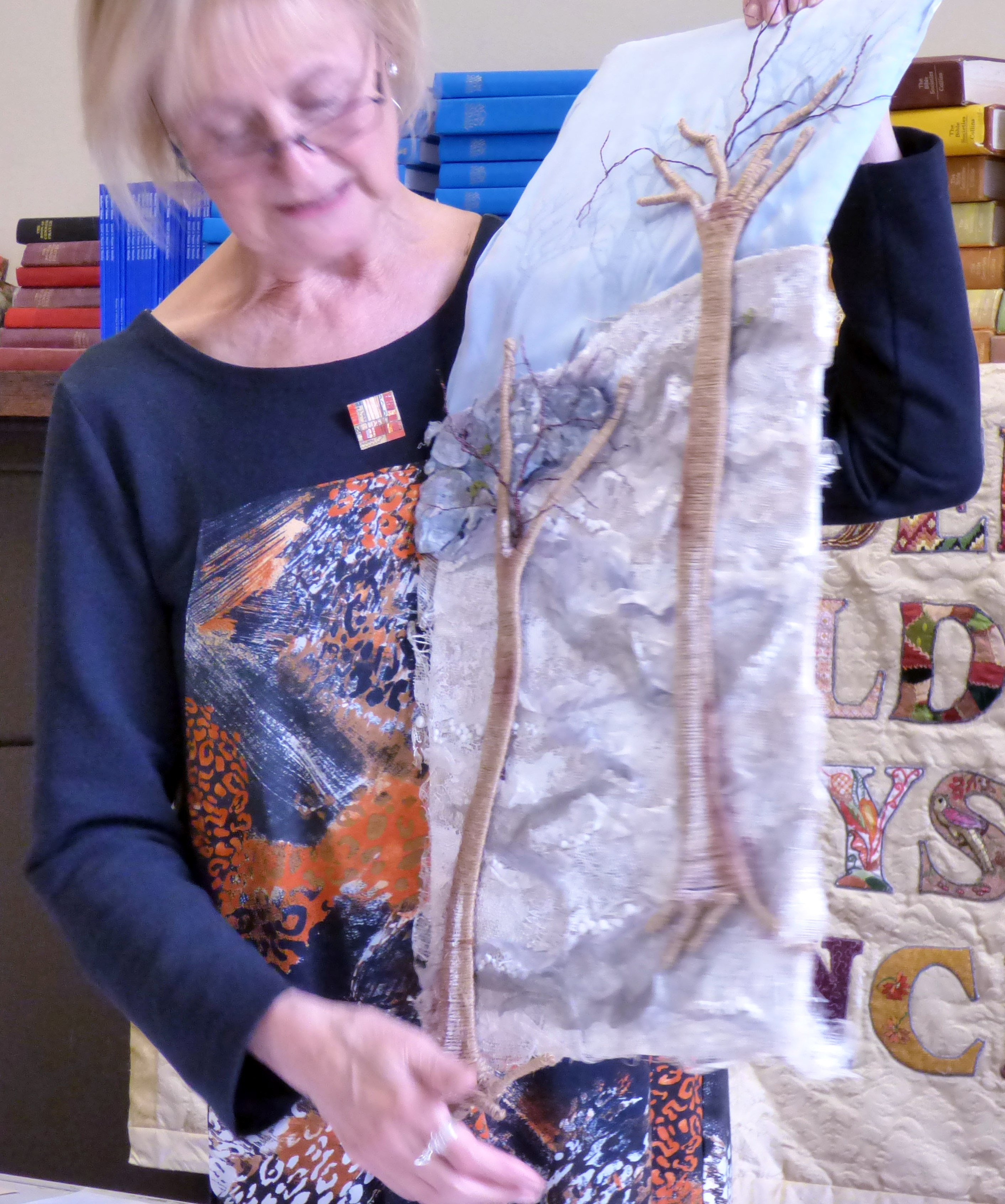 embroidery by Judi Brown, Glossop EG