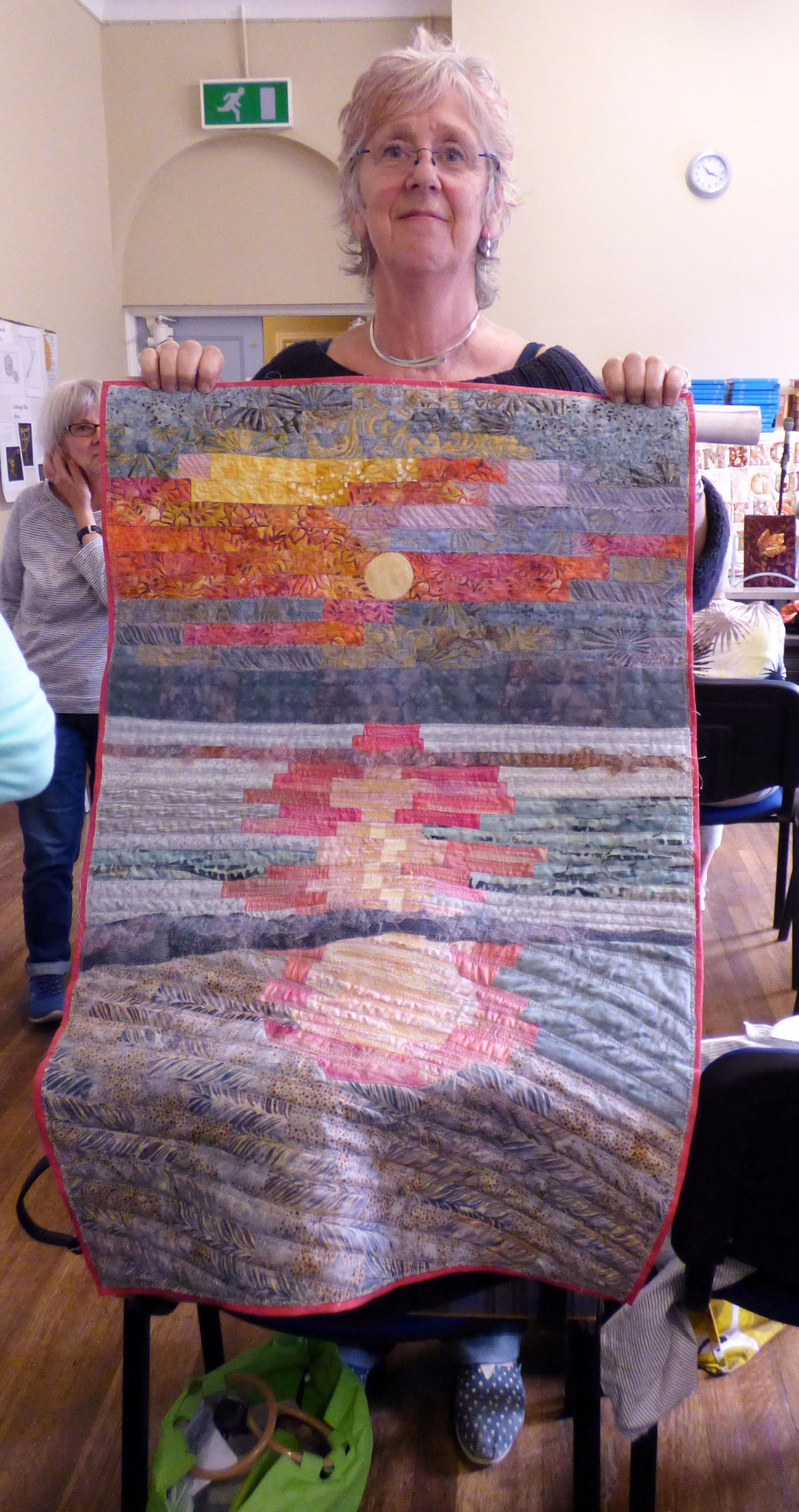 a quilt by our newest member Maggie Pearson
