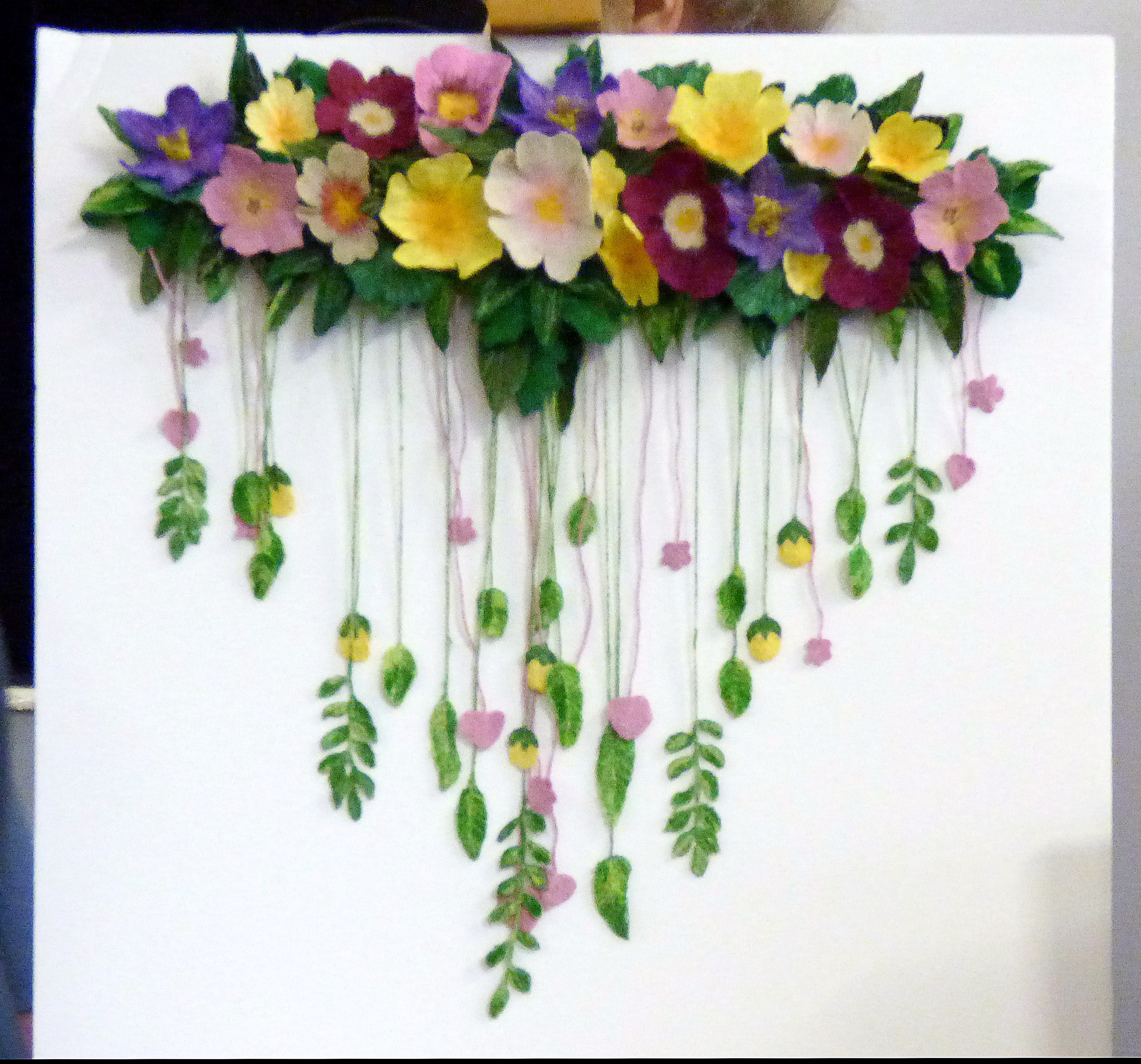 embroidery by Moya McCarthy for Capability Brown exhibition