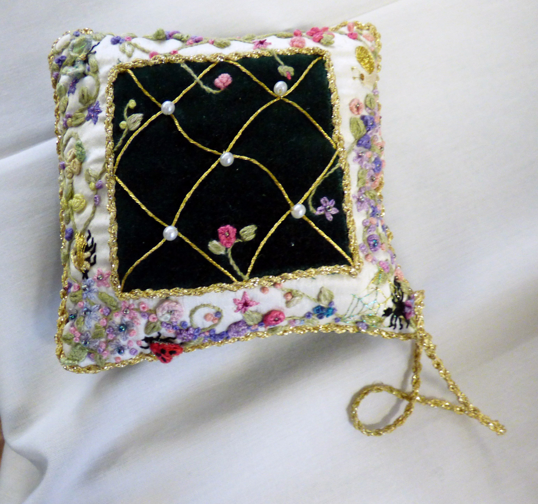 hand embroidery by Moya McCarthy, N.Wales EG