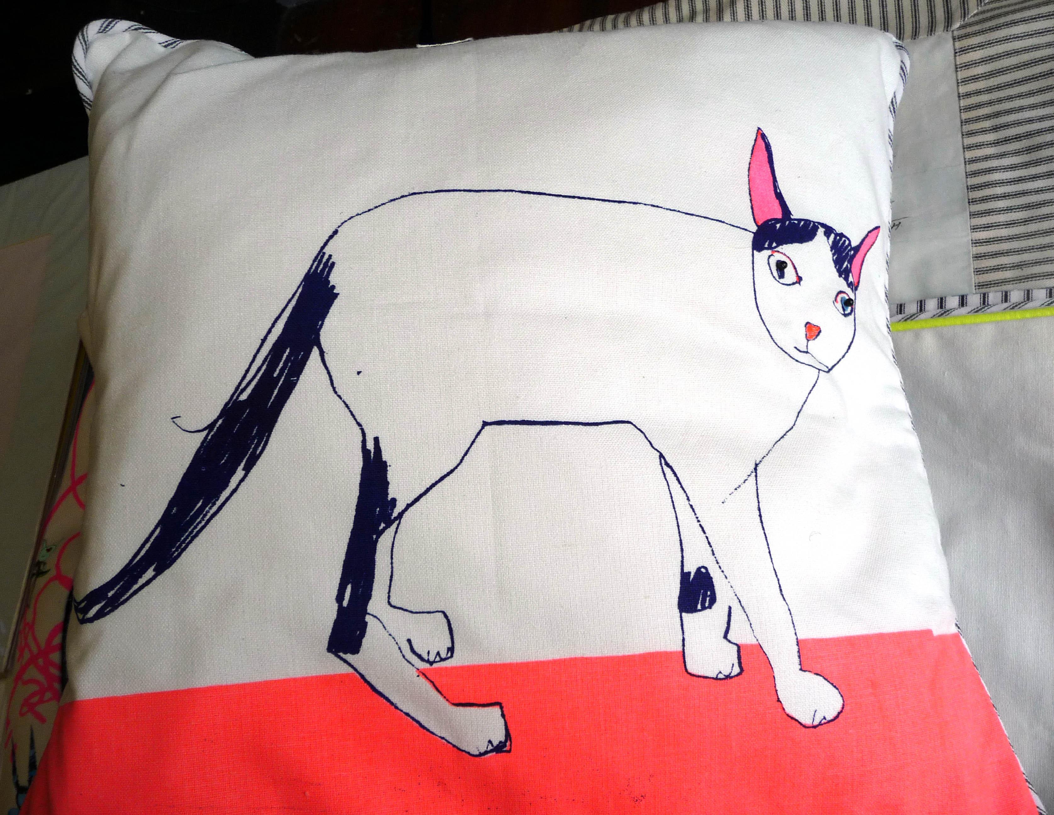 cushion by Rachael Howard