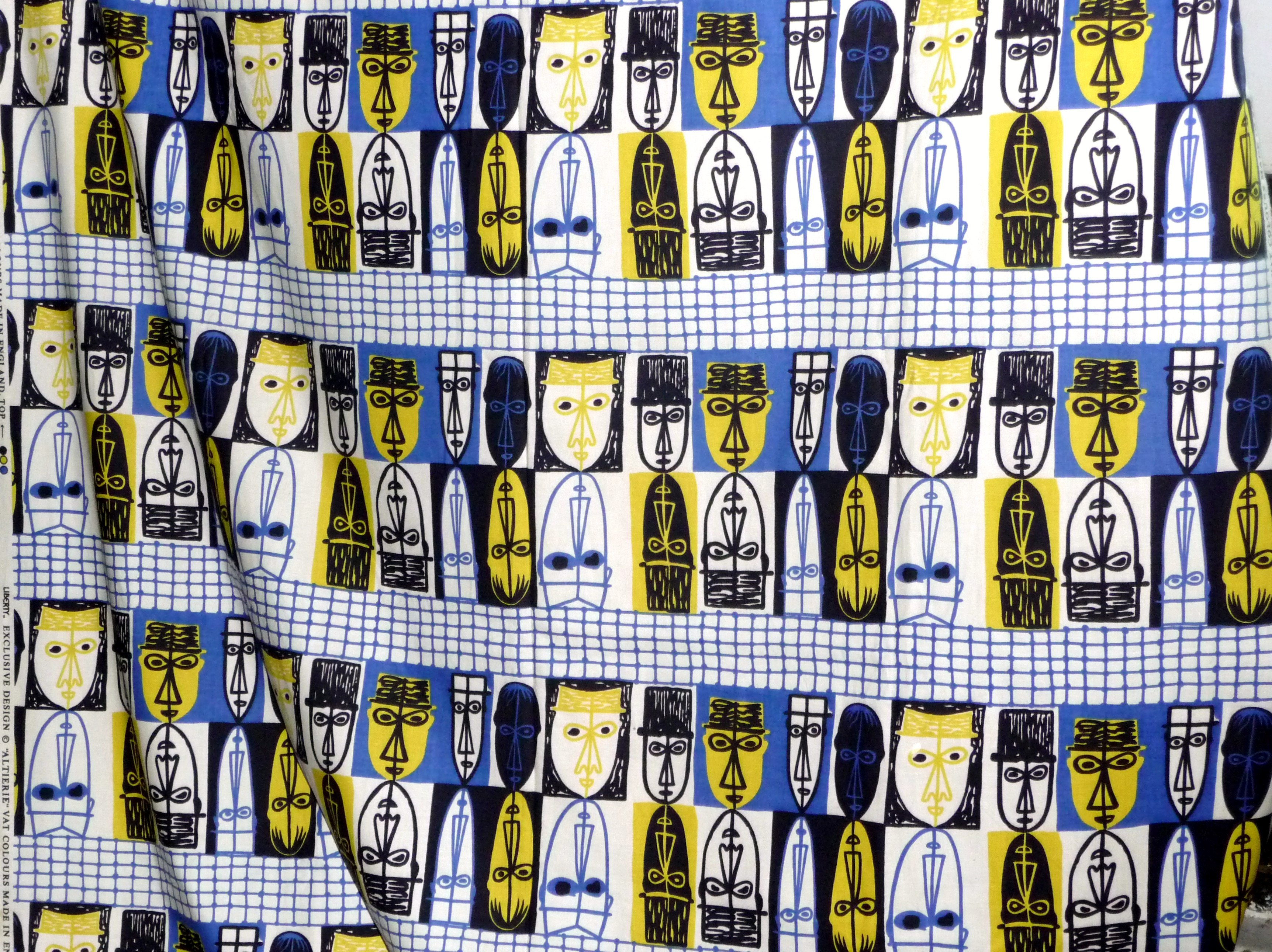 BRITTANY design fabric by John Piper, 1969