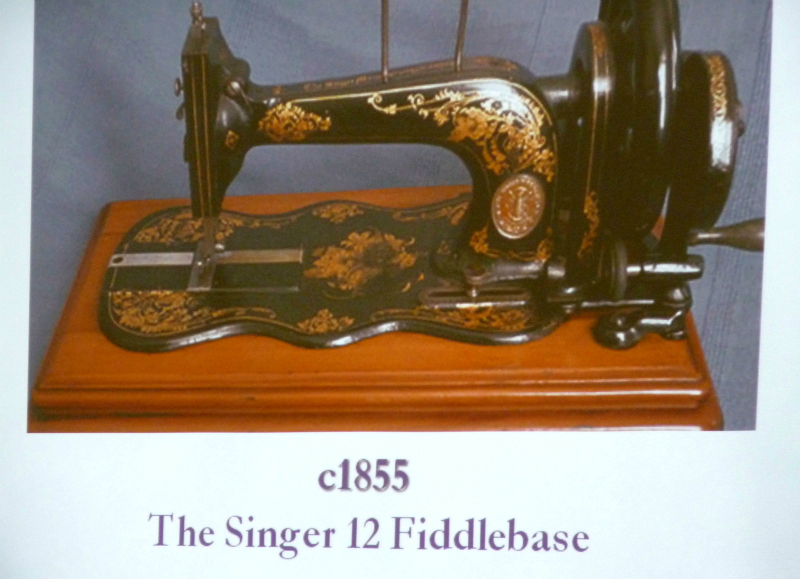 the shape of this sewing machine was widely copied by other firms