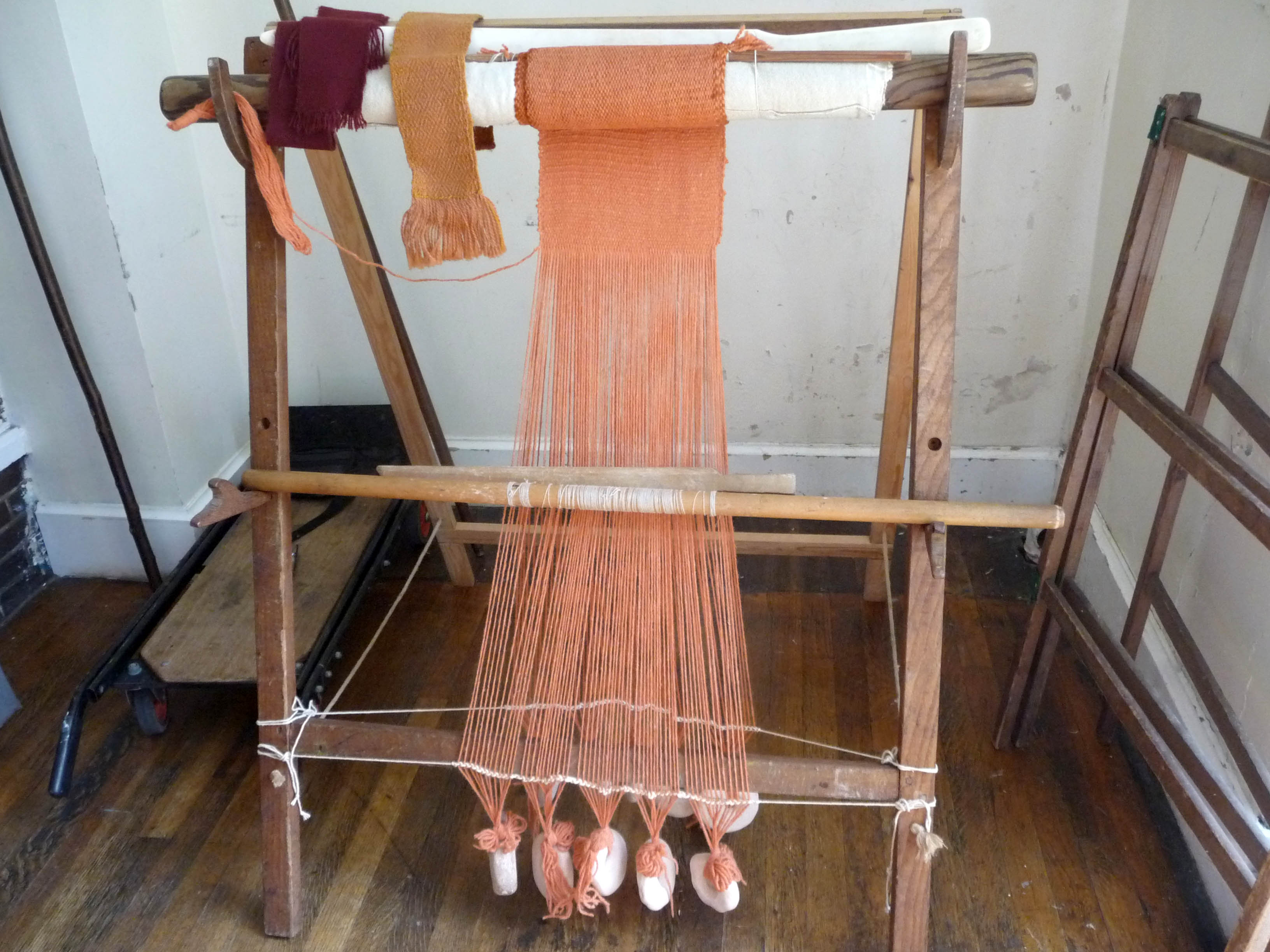 this is a small Viking loom-they were usually much wider