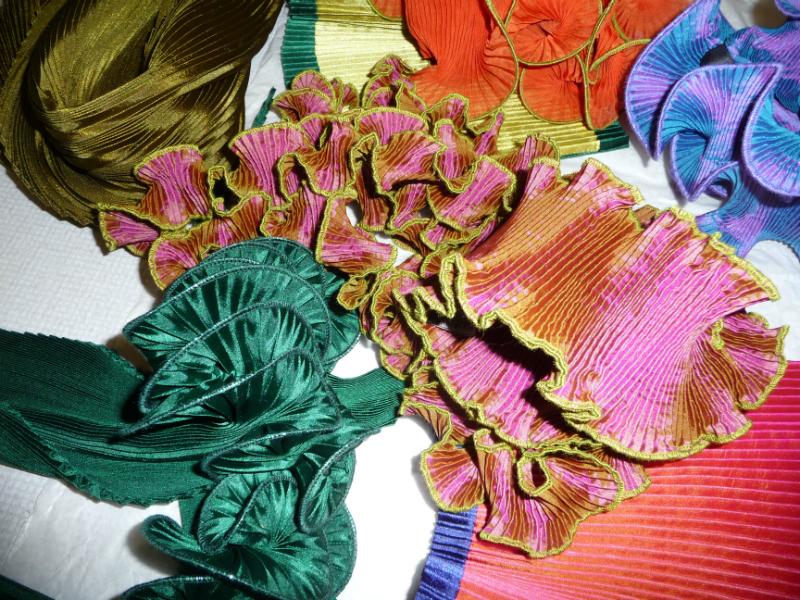 Nawal Gebreel- samples of her textile art