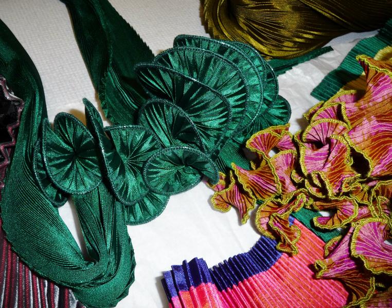 Nawal Gebreel- pleated textiles