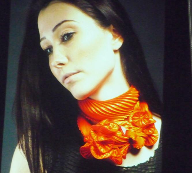scarf by Nawal Gebreel