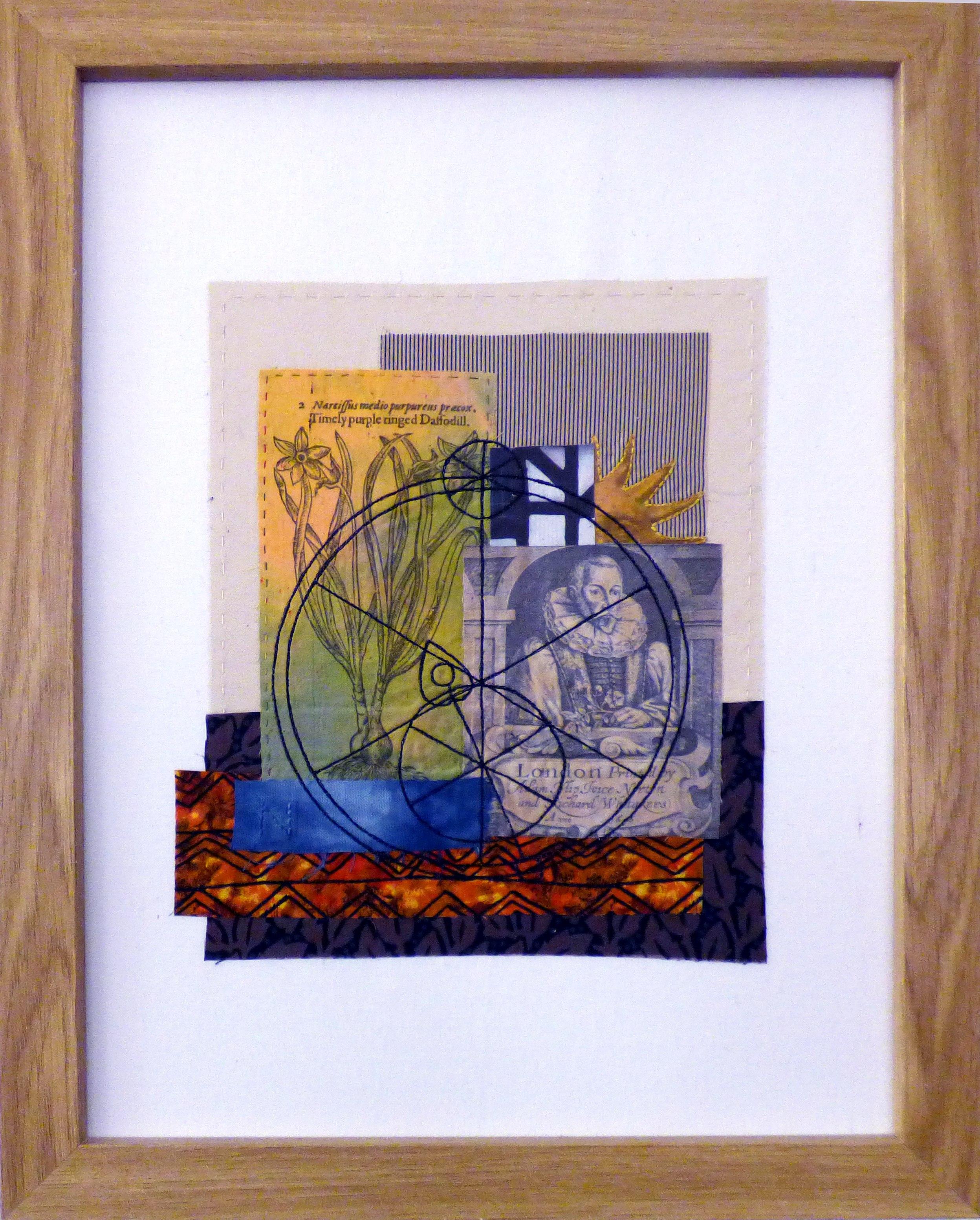 REFLECTIONS OF THE PAST 3 by Linda Bilsborrow, Ten Plus exhibition, Nantwich