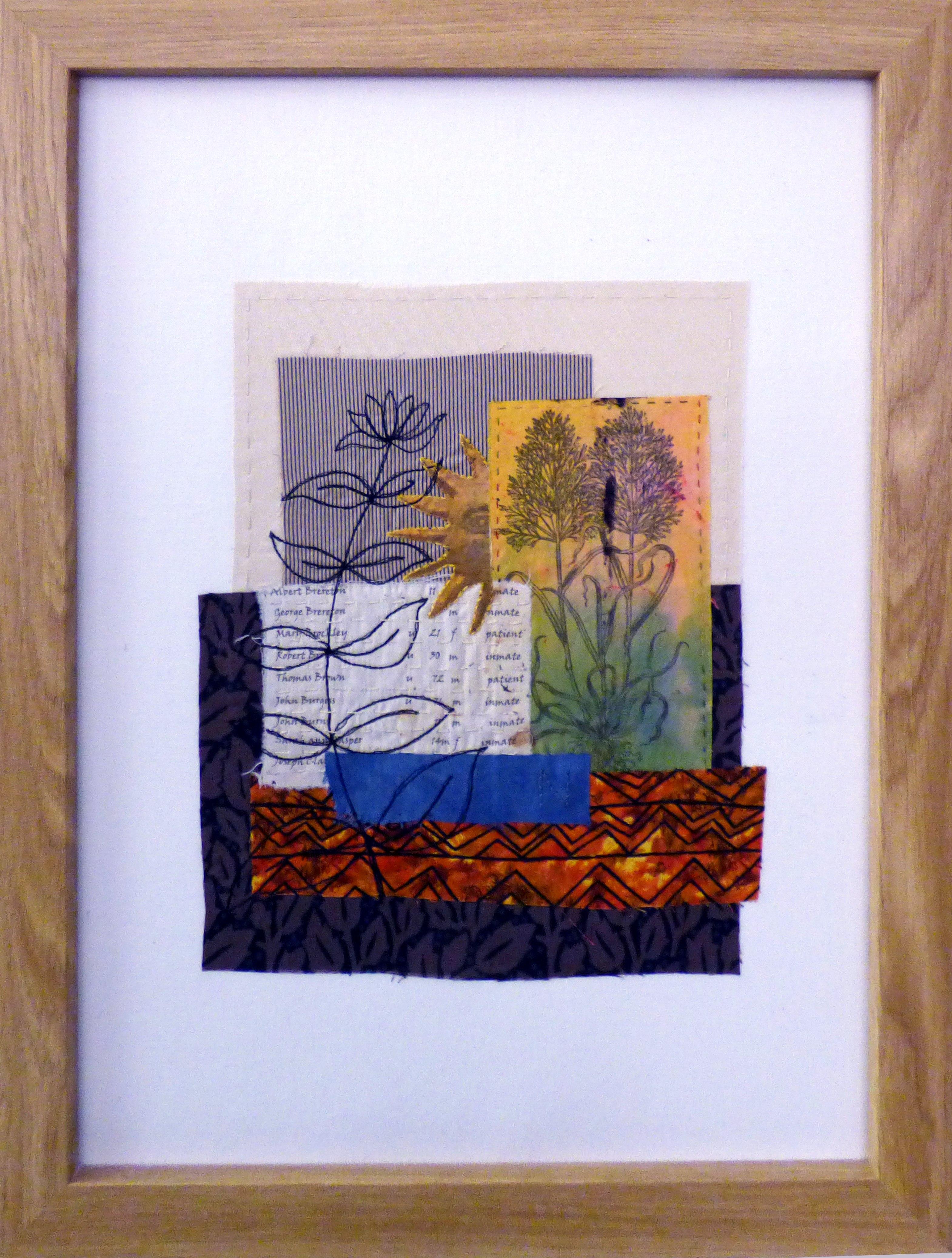 REFLECTIONS OF THE PAST 1 by Linda Bilsborrow, Ten Plus exhibition, Nantwich