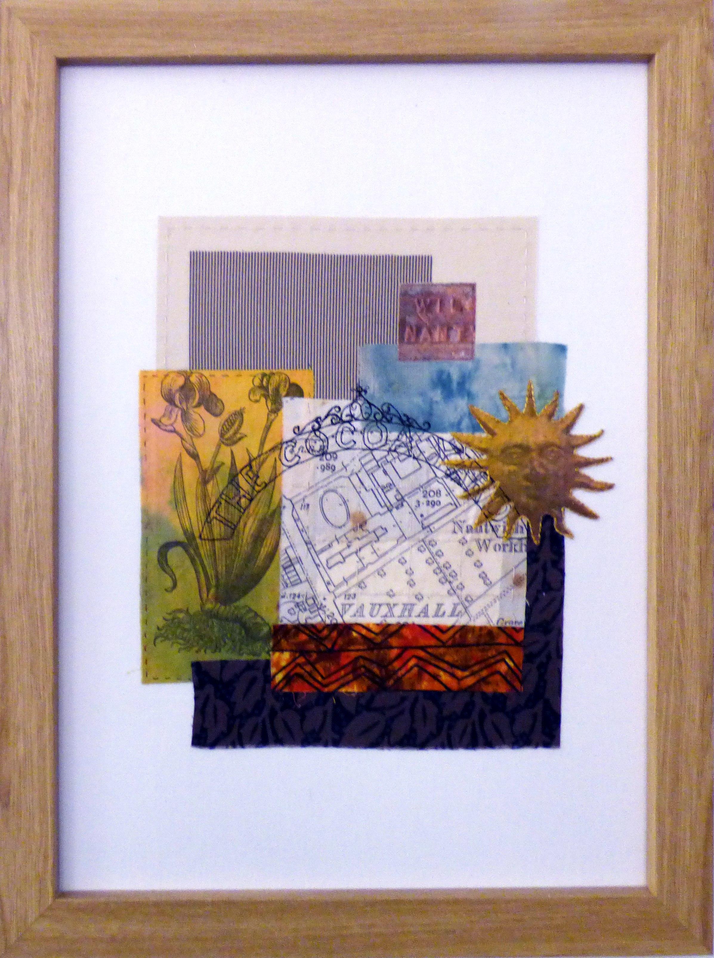 REFLECTIONS OF THE PAST 2 by Linda Bilsborrow, Ten Plus exhibition, Nantwich