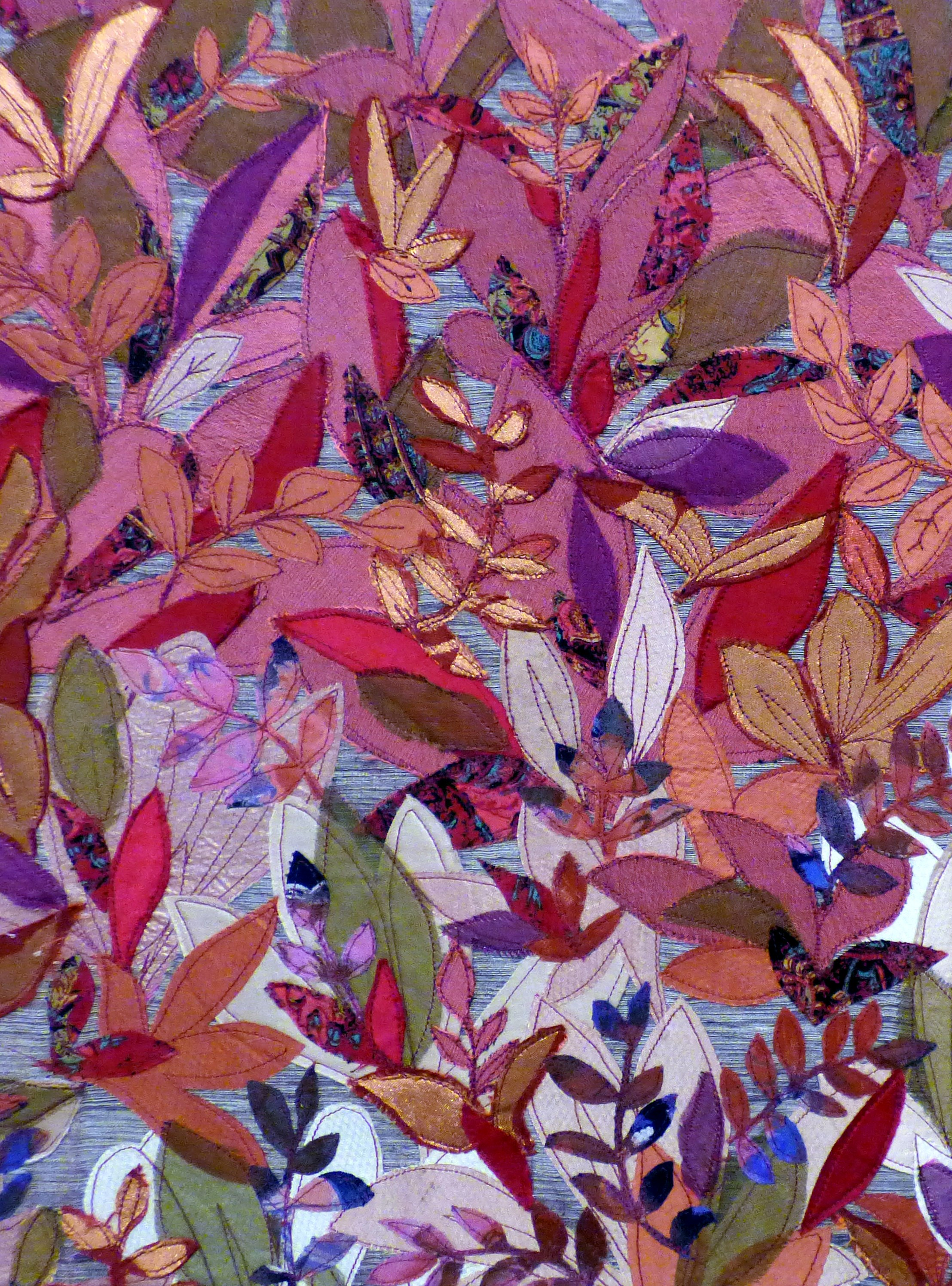 AUTUMN GLORY by Lesley Crowe-Bull, Ten Plus exhibition, Nantwich