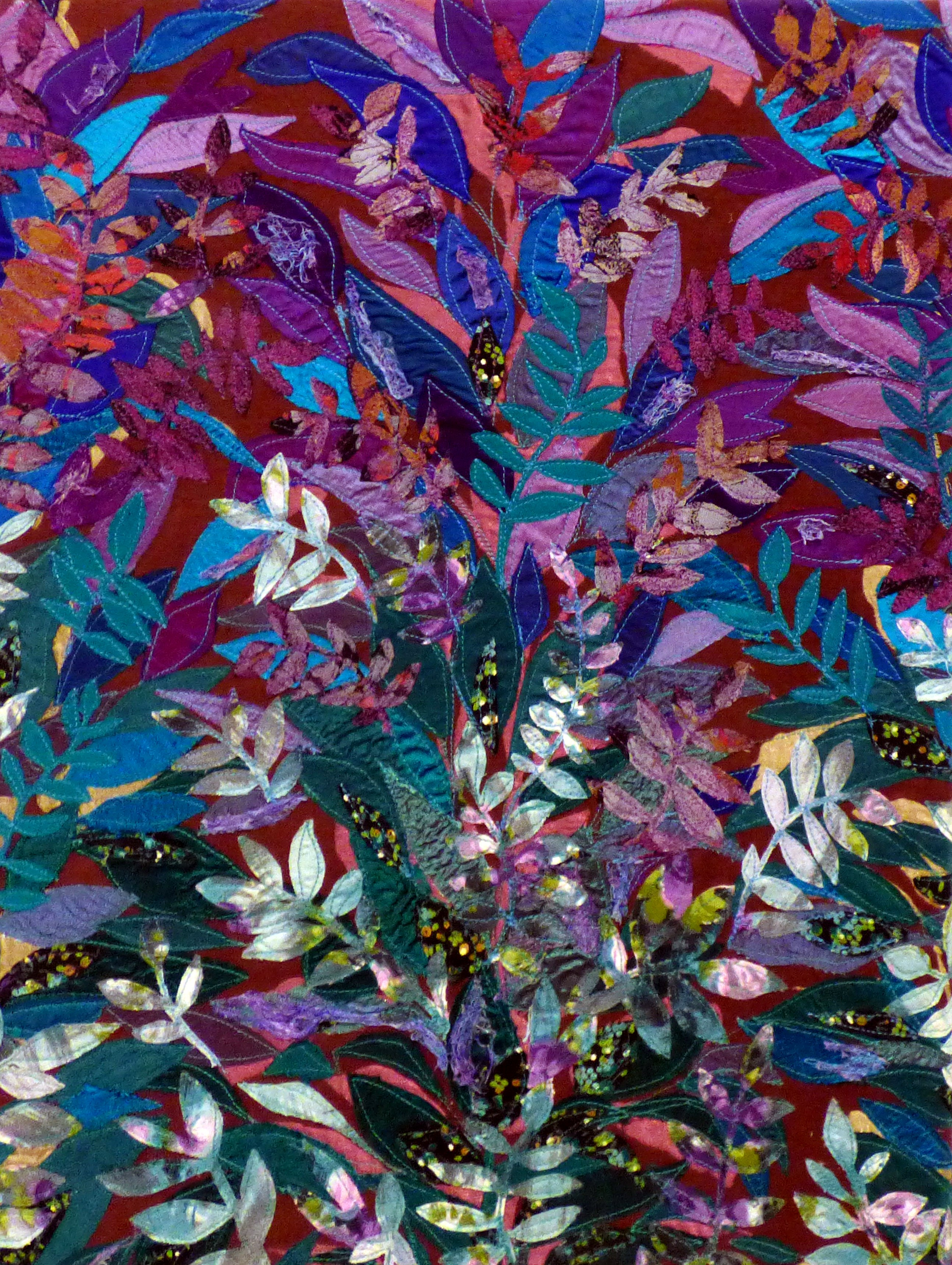 AUTUMN TWILIGHT by Lesley Crowe-Bull, Ten Plus exhibition, Nantwich